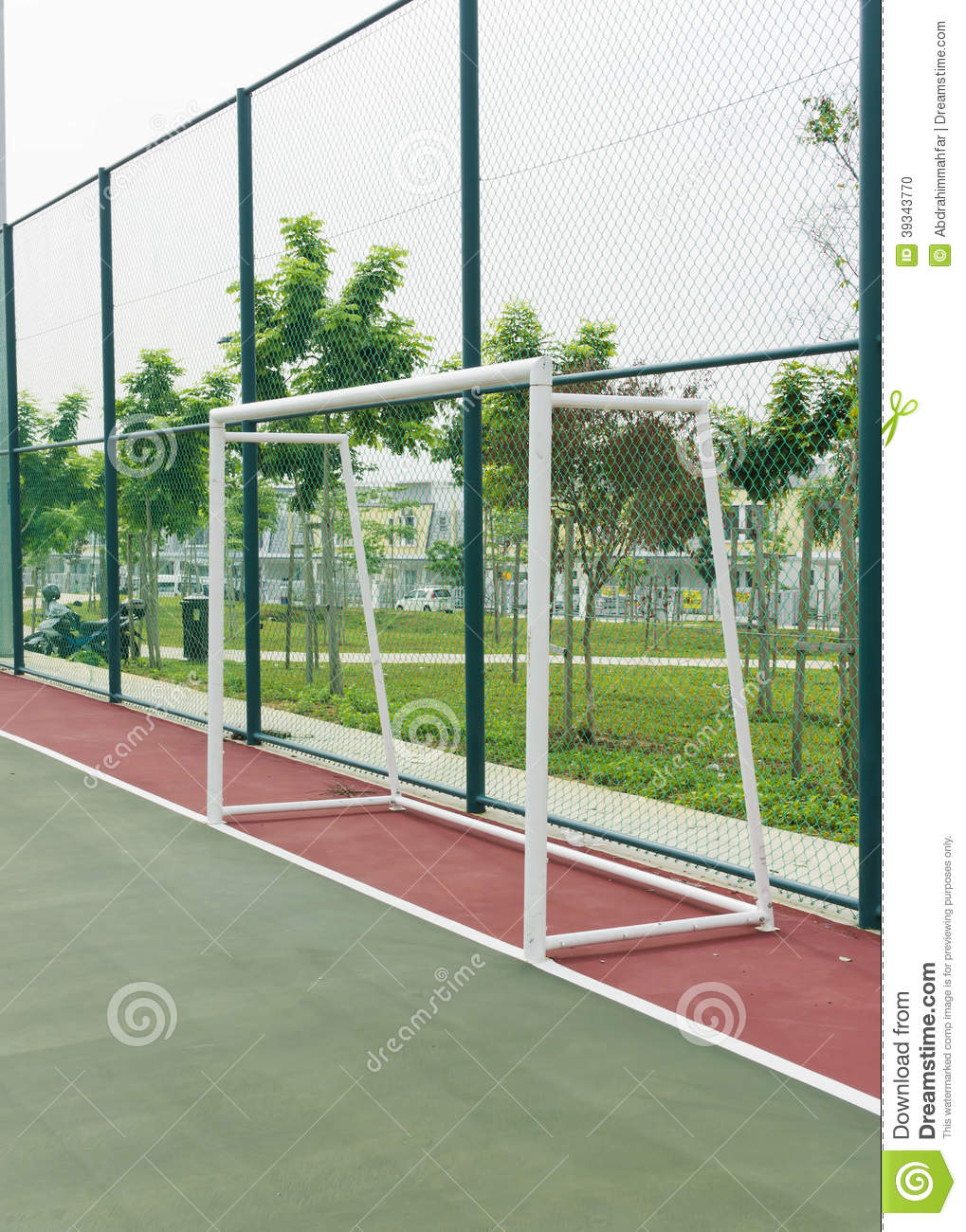 Futsal for Average basketball court size