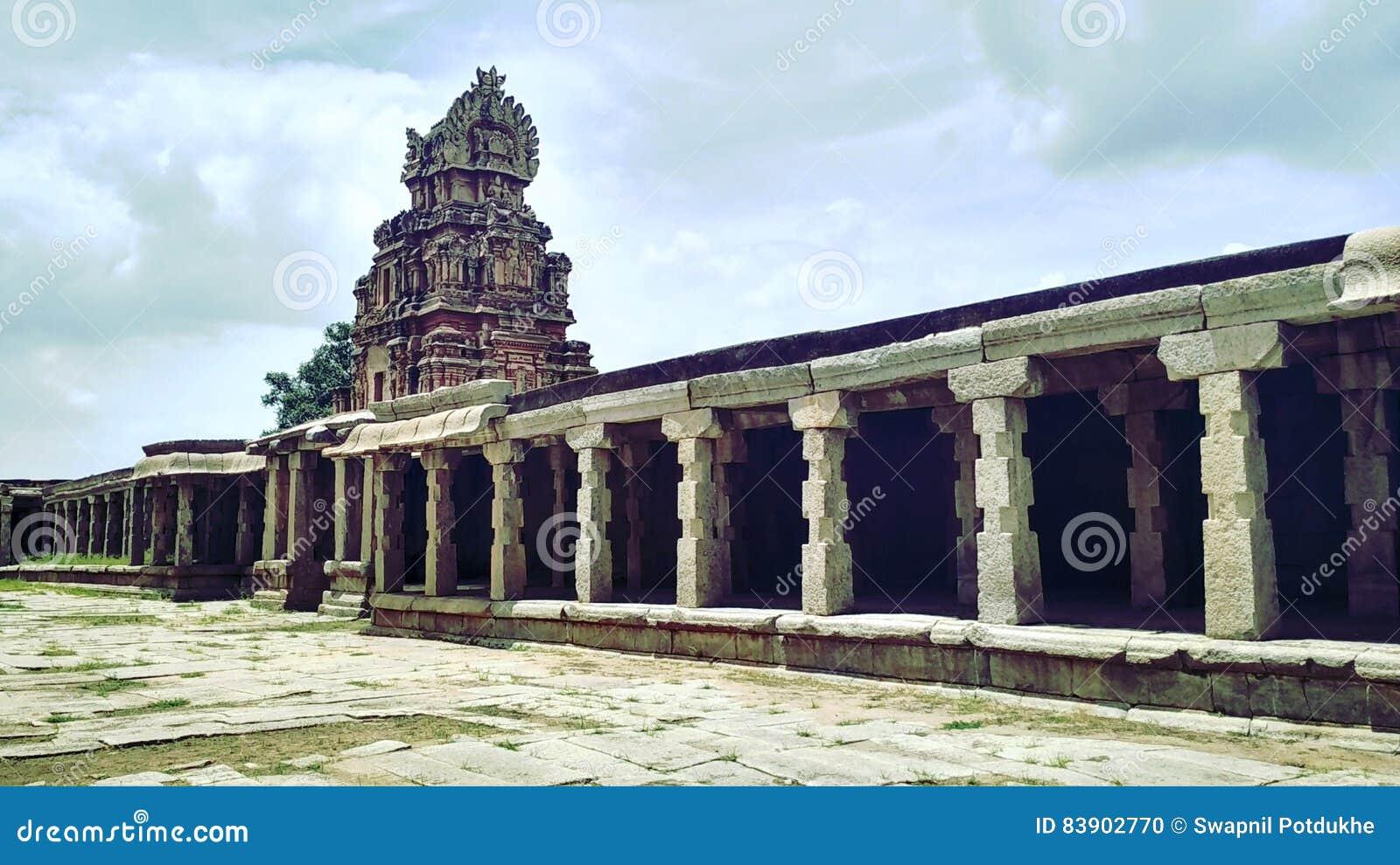 在Hampi的寺庙