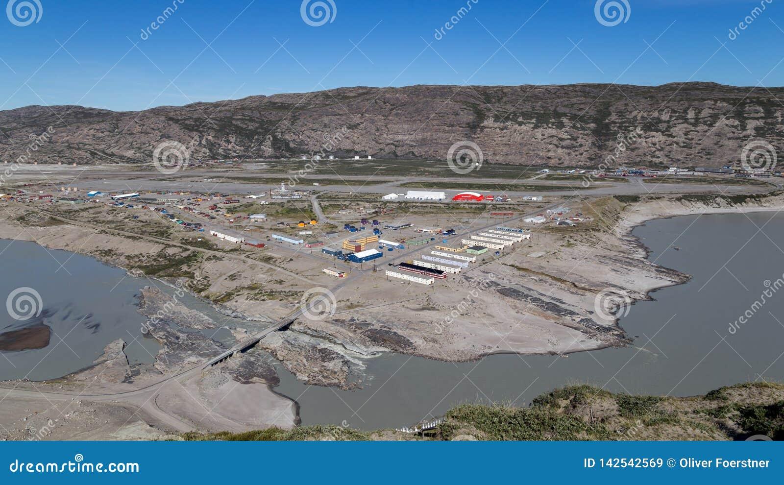 在Kangerlussuaq,格陵兰的看法