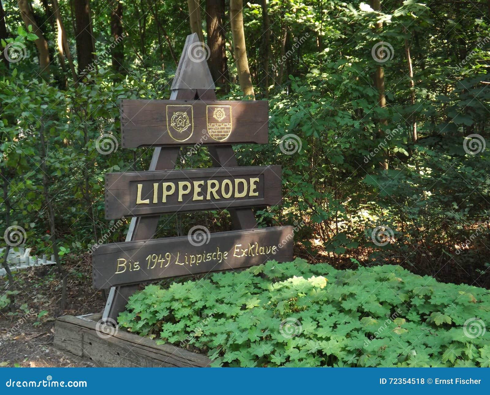 在Lipperode的镇板材