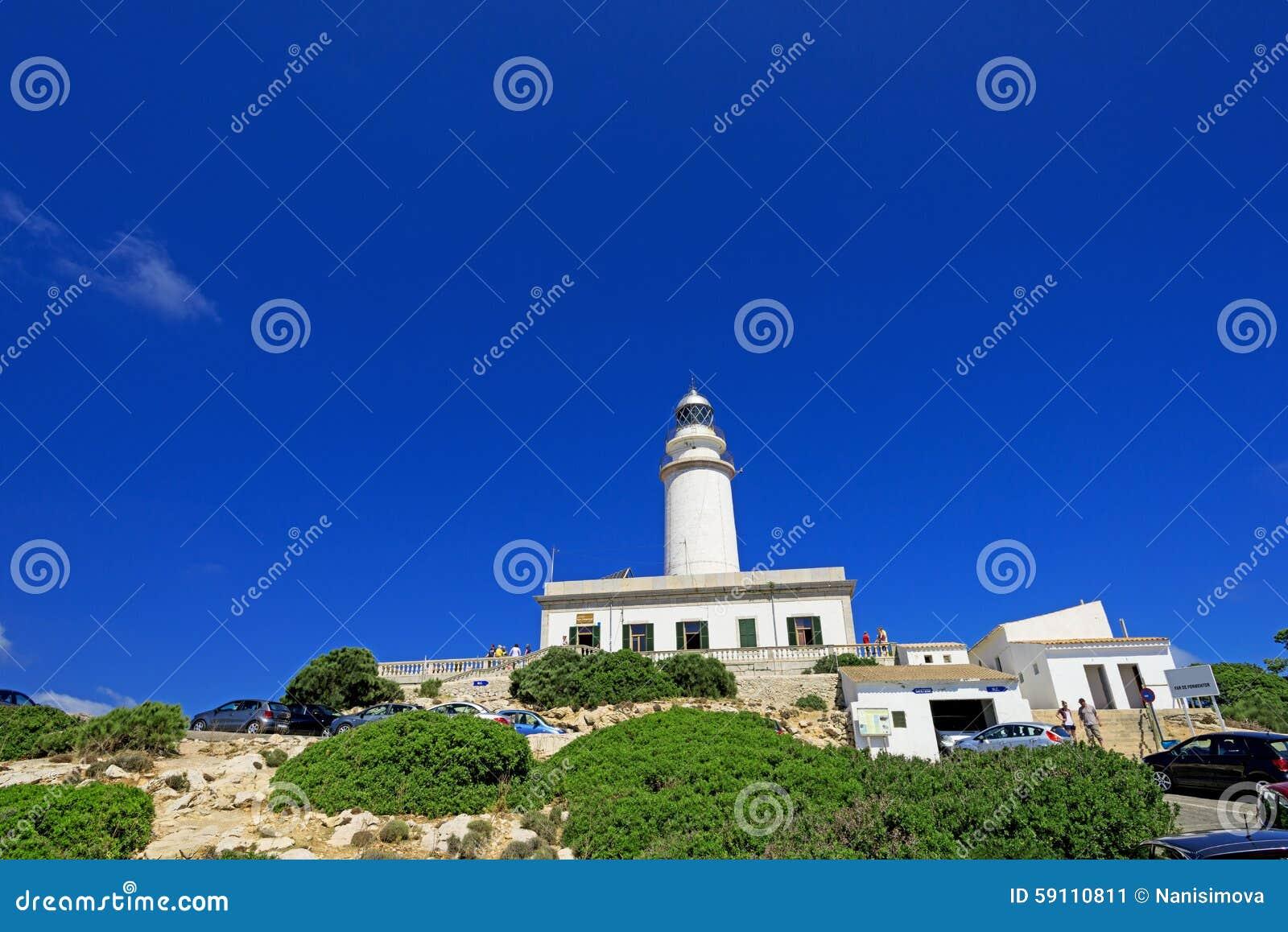 在Majorca的Formentor灯塔