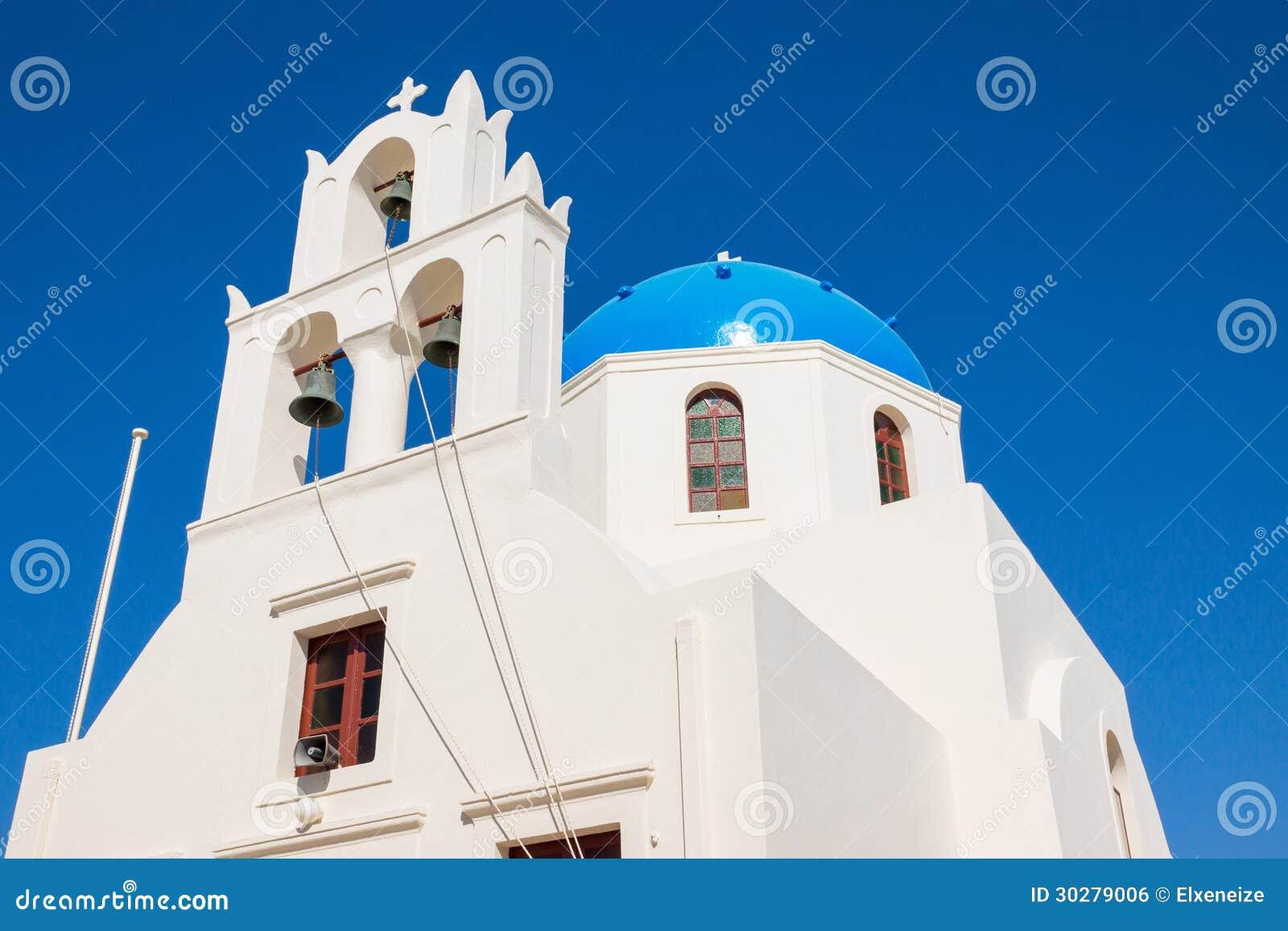 美丽的希腊大教堂