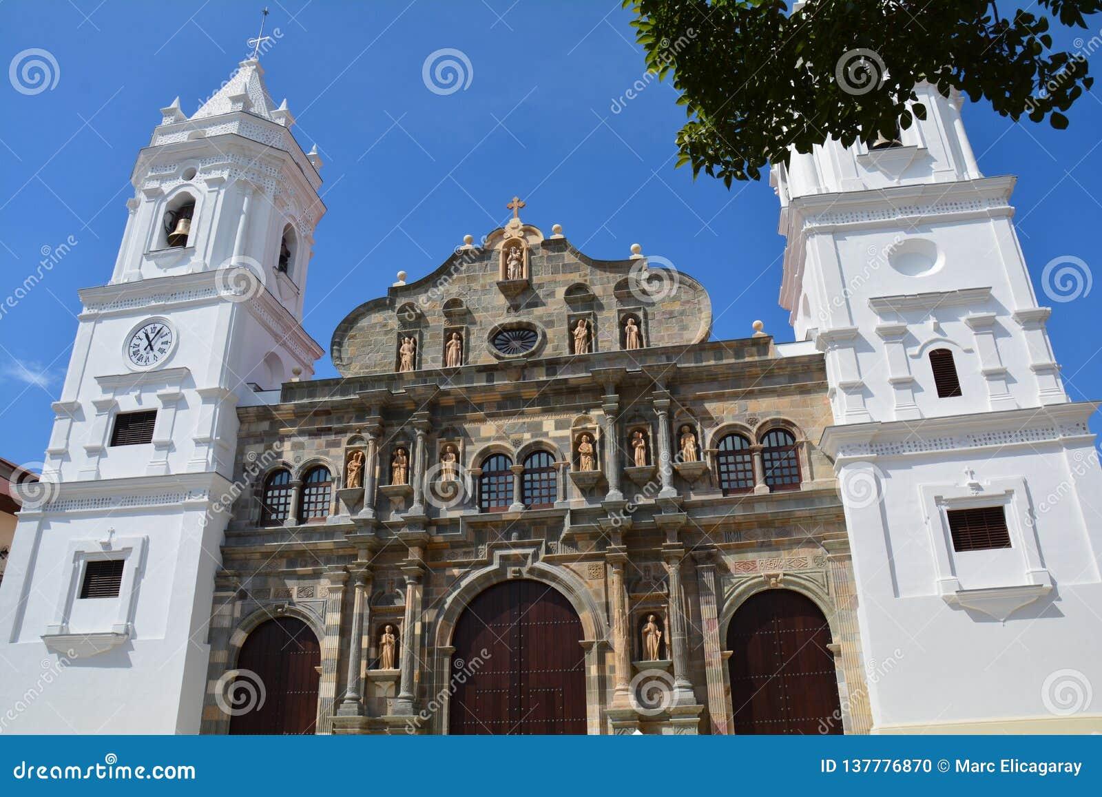 在Panamà ¡的巴拿马奥尔德敦casco Viejo