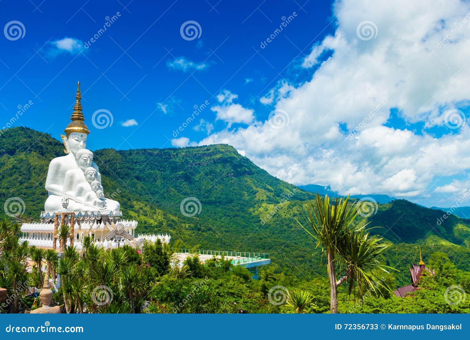 在Phasonkaew寺庙,泰国的Buddhas