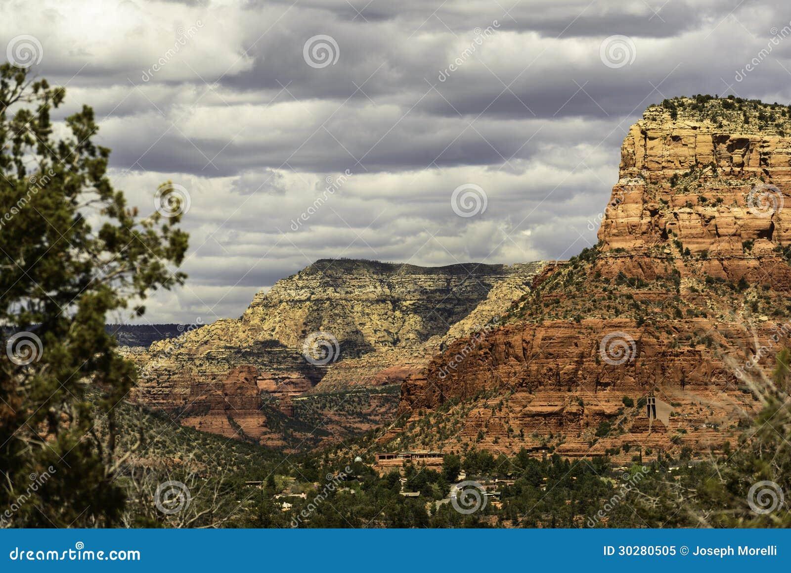 Sedona亚利桑那红色岩石