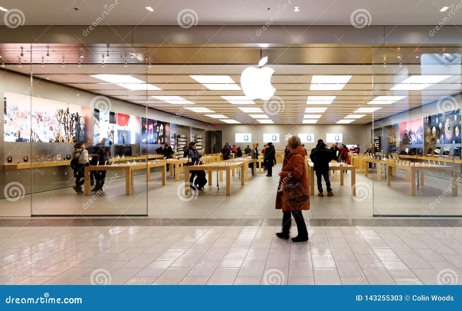 在Ste福伊,魁北克的苹果计算机iStore