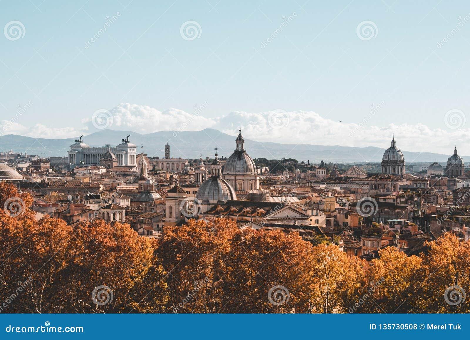 在studytrip期间,罗马偶象大厦射击了