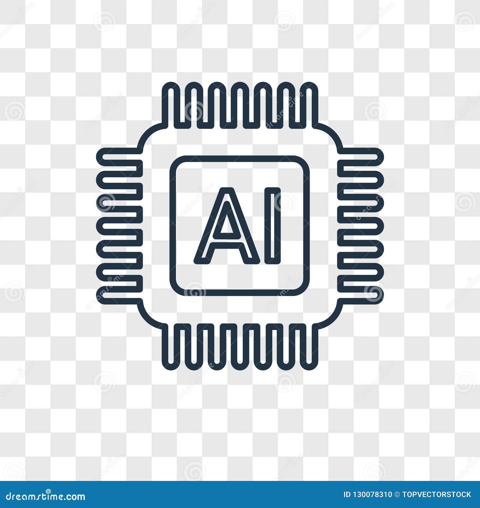 在t隔绝的人工智能概念传染媒介线性象