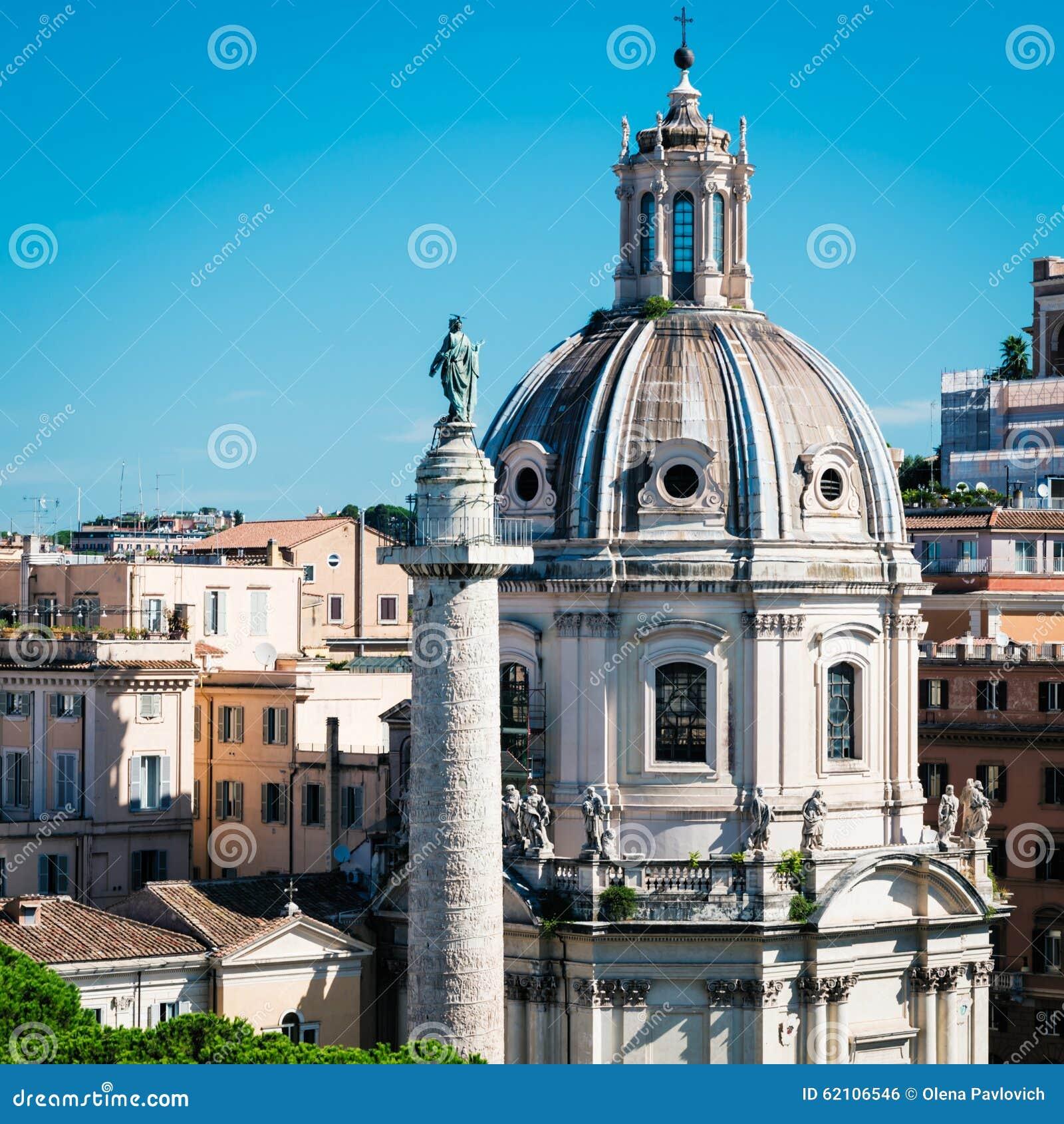 在Trajan论坛的Trajan的列在罗马
