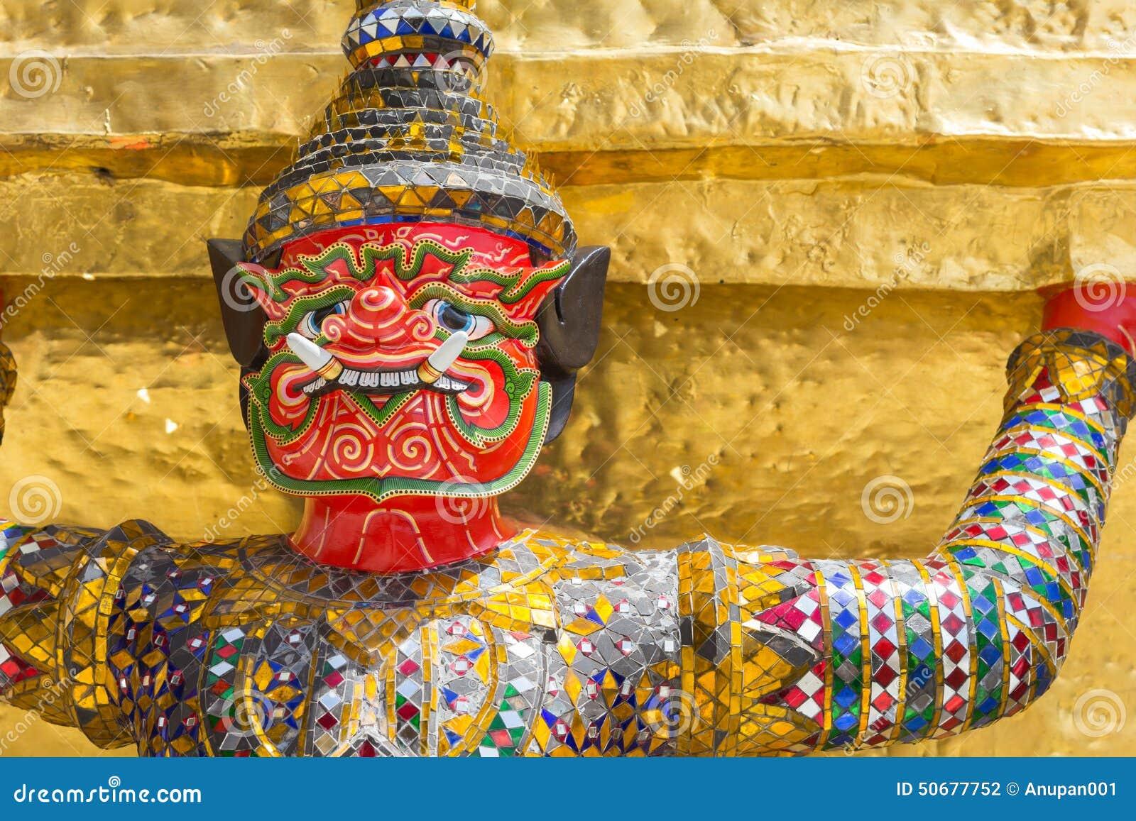 Download 在Wat Pra Kaew,曼谷泰国的巨人 库存照片. 图片 包括有 纪念碑, 国家, 绿宝石, 金子, 相当 - 50677752