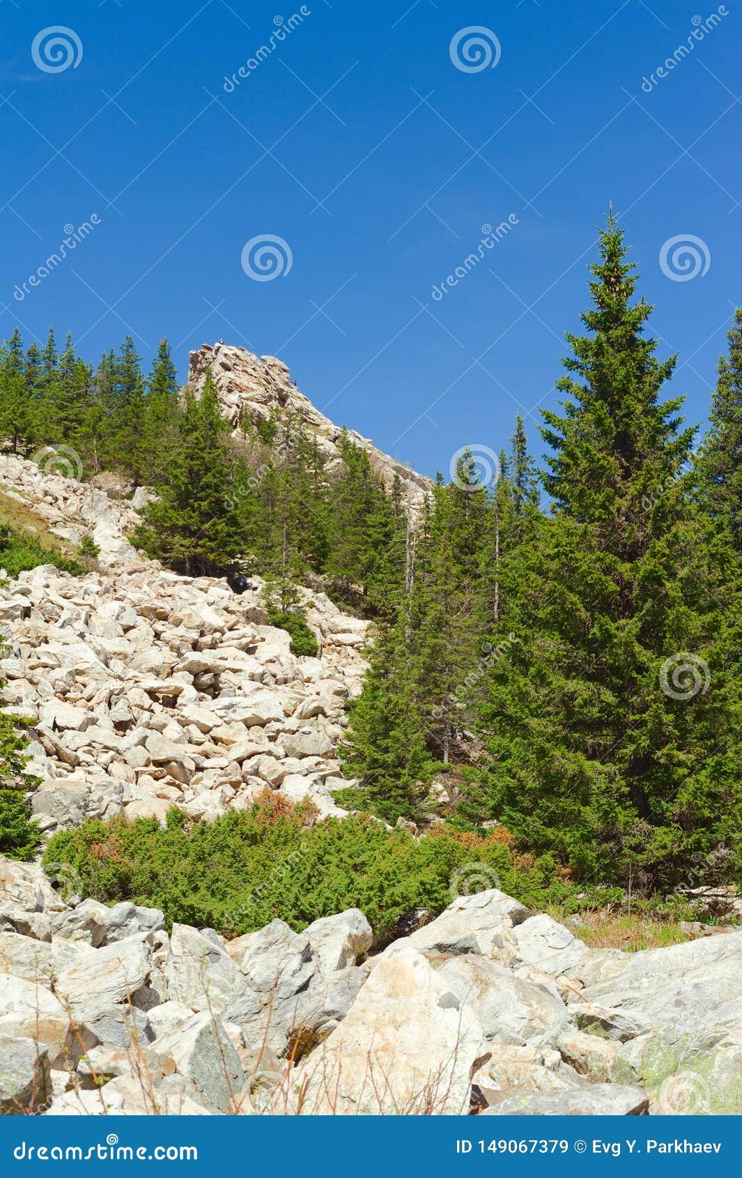 在Zyuratkul上面的攀登  r