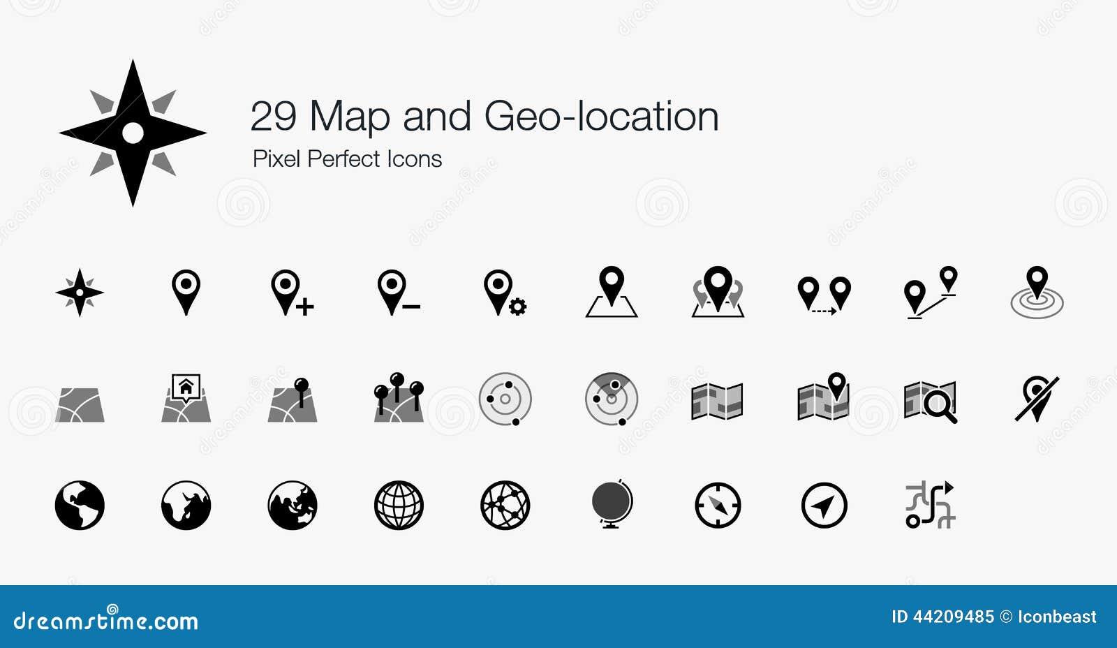 29地图和Geo地点映象点完善的象