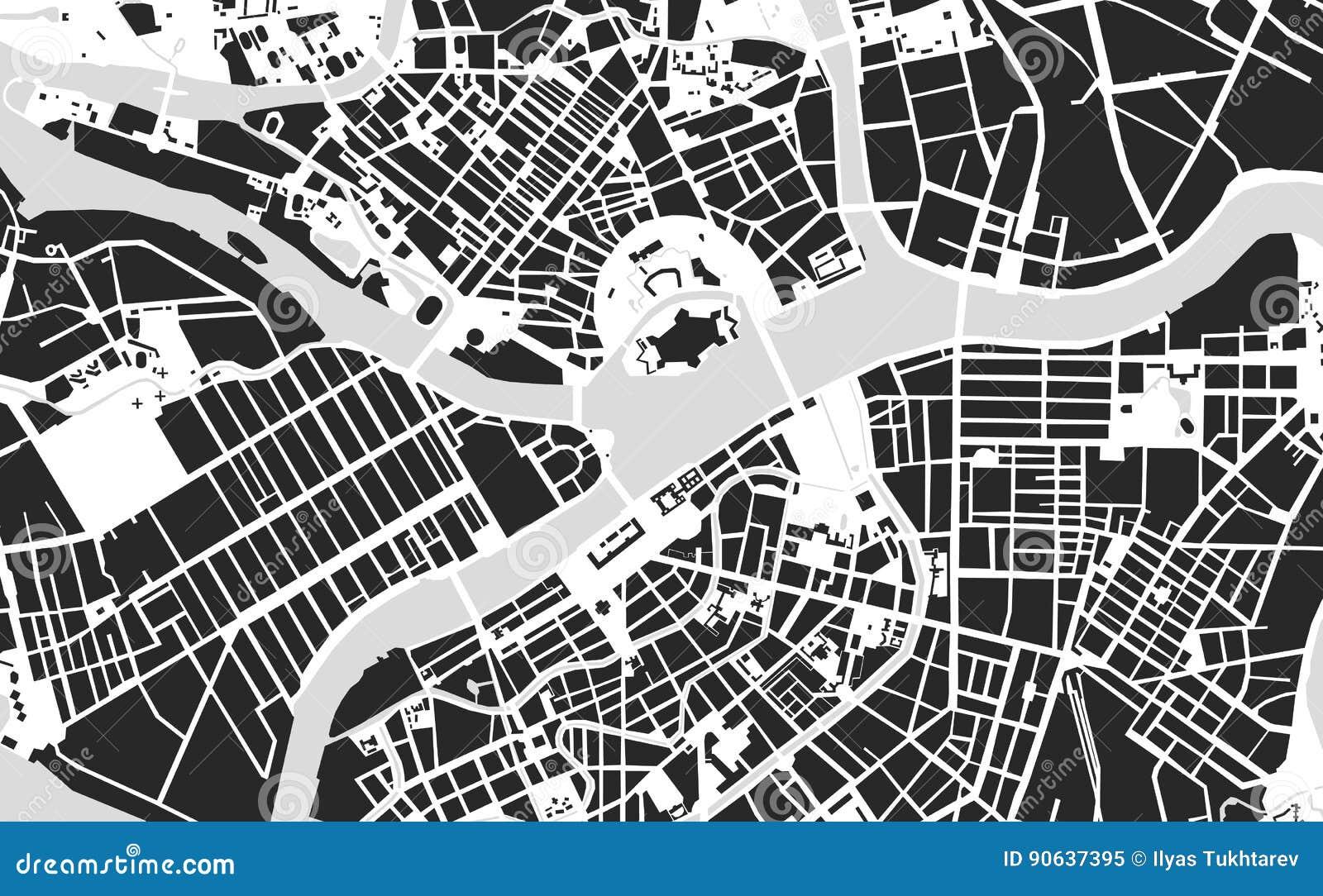 地图圣彼得堡