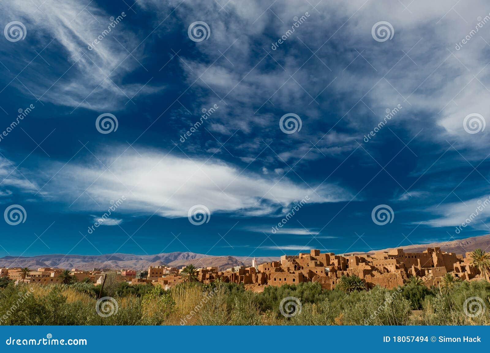 地图集kasbah摩洛哥山