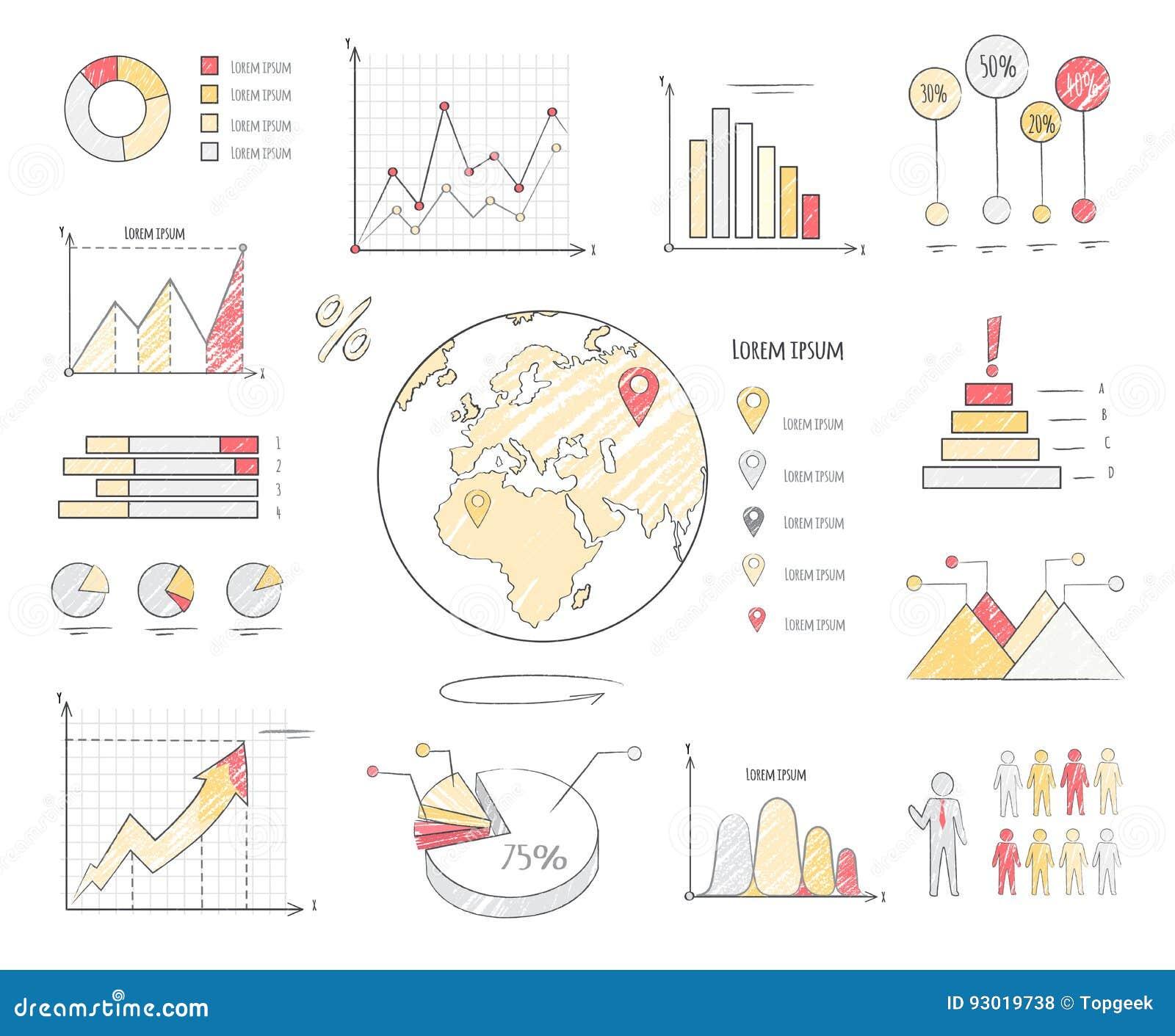 地球人口统计图例证