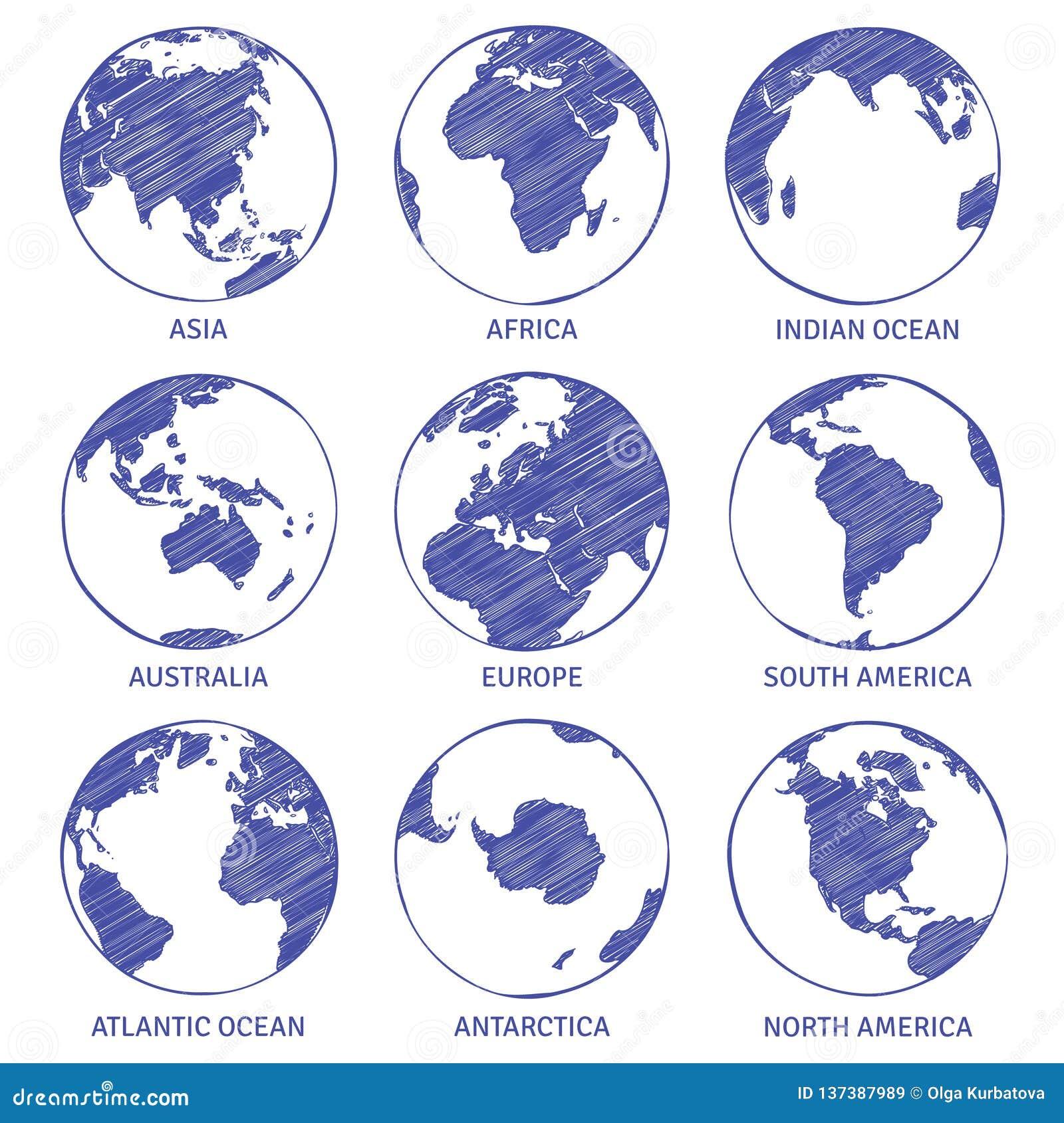 地球剪影 地图世界手拉的地球,地球圈子概念大陆塑造外形行星海洋登陆剪影