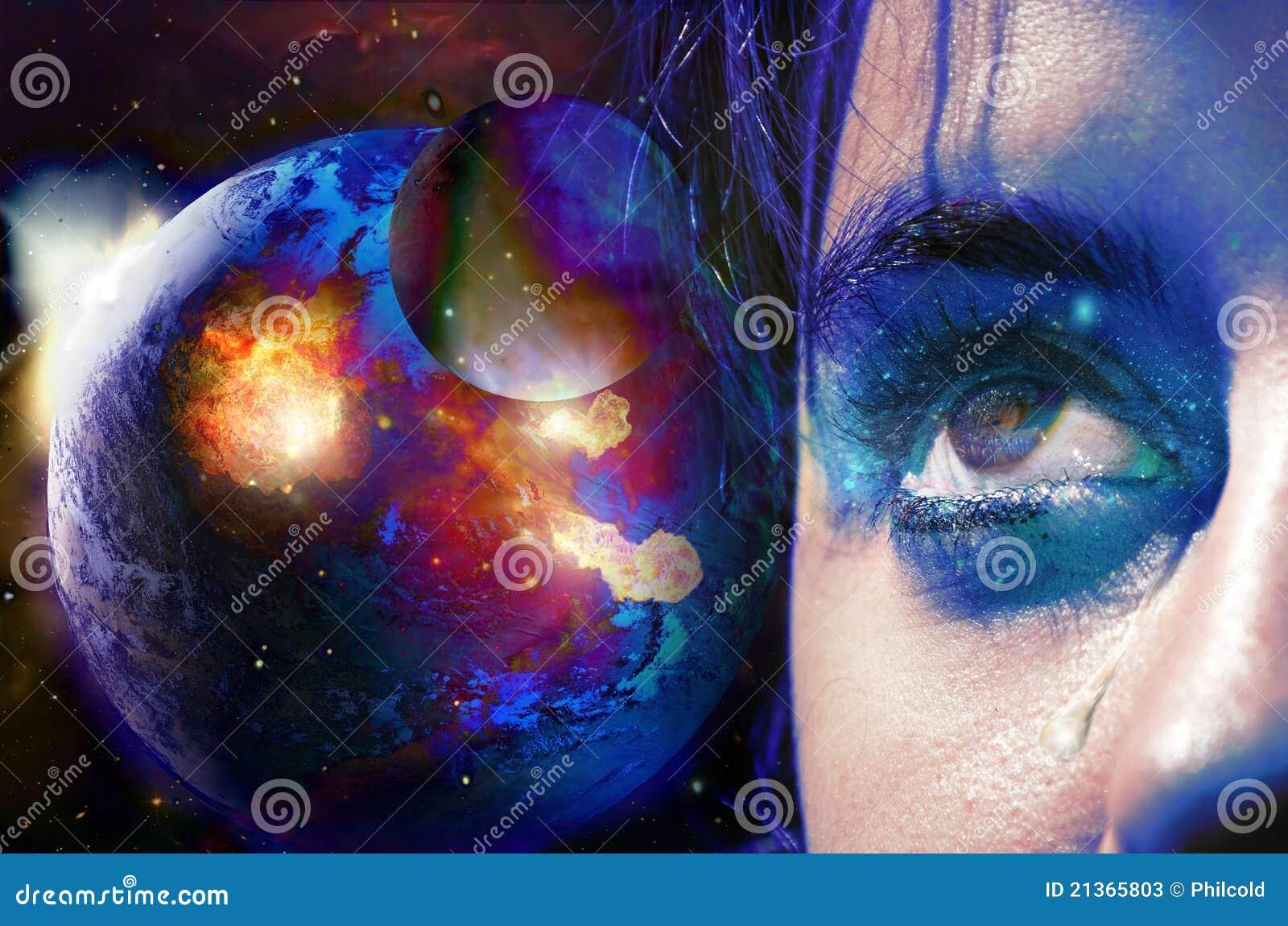 地球的泪花