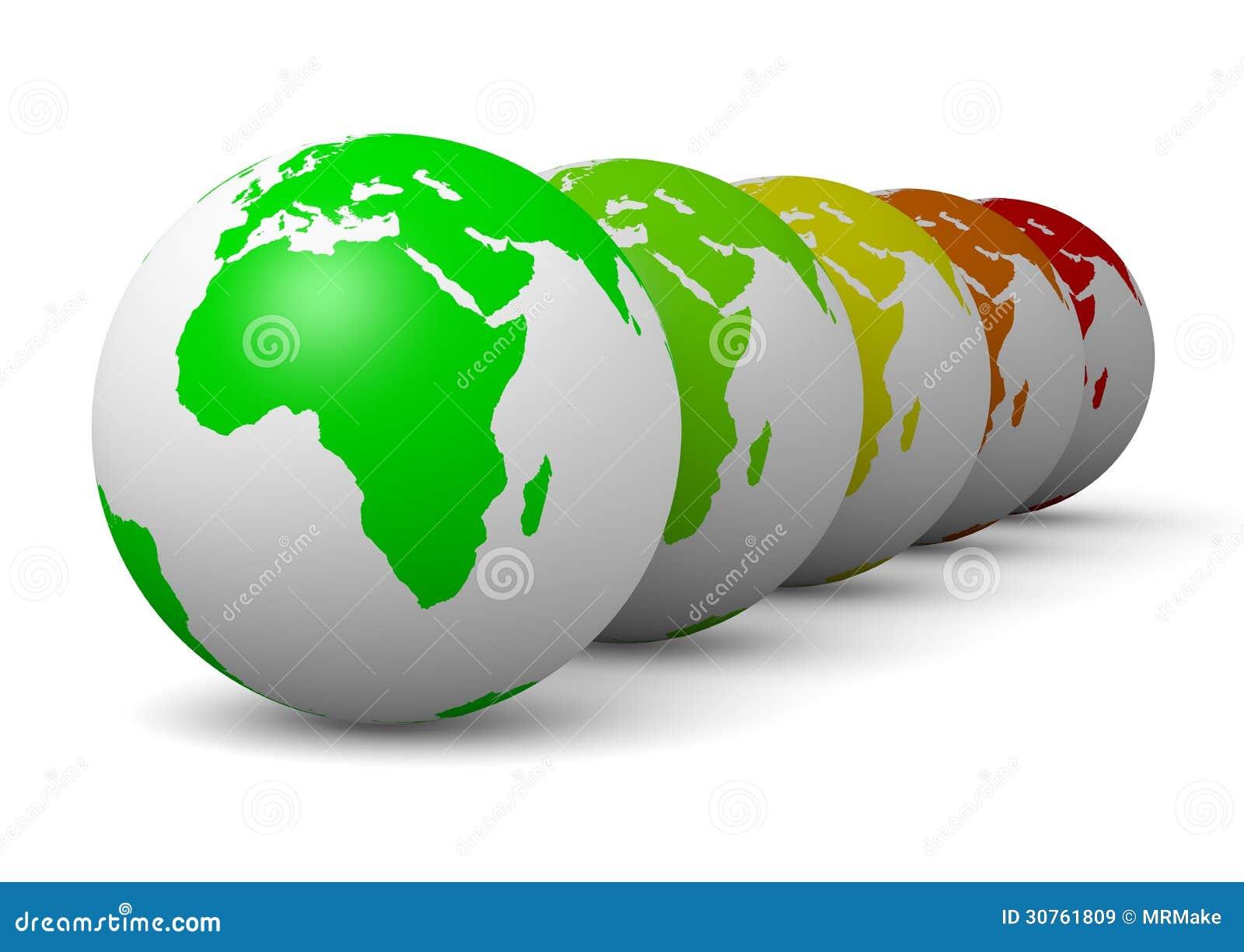 地球系列绿色生态概念