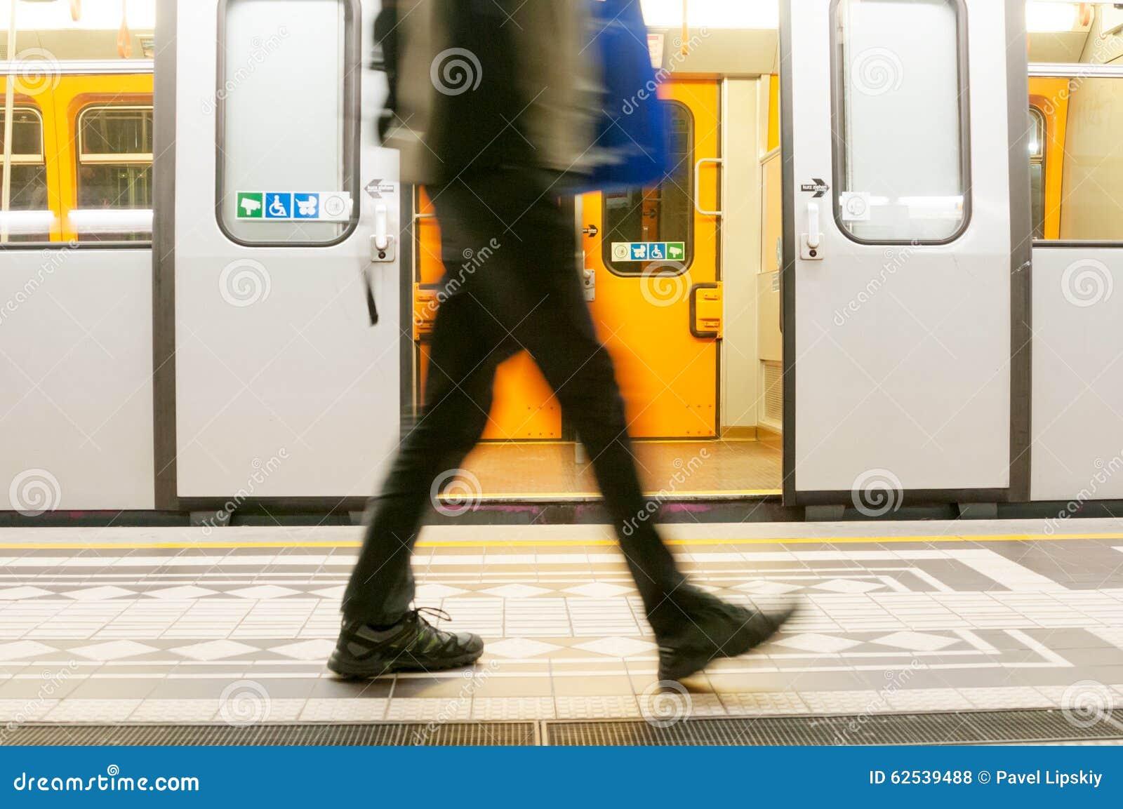 地铁在维也纳