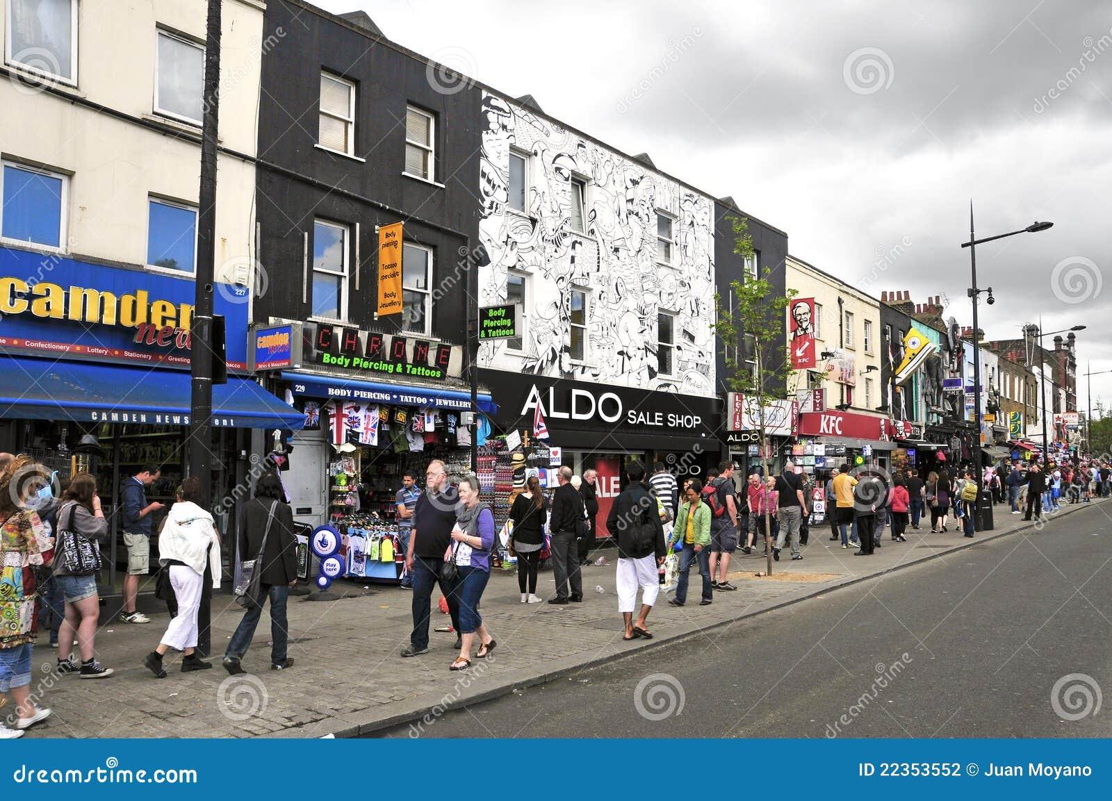 坎登王国团结的伦敦街道