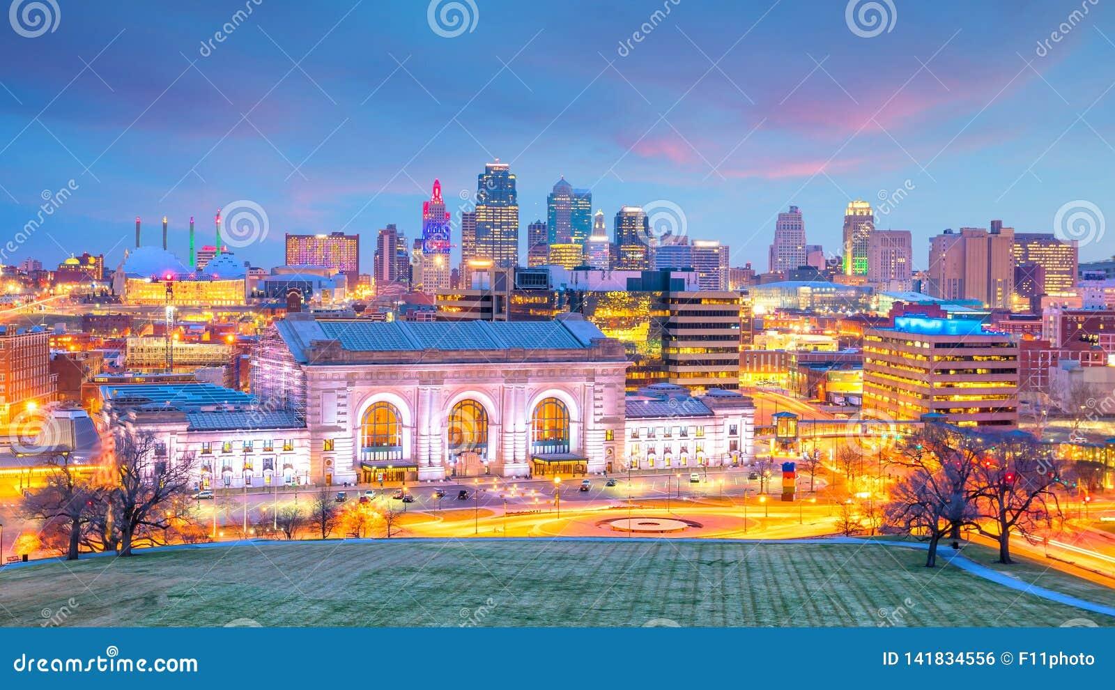 坎萨斯城地平线看法在密苏里