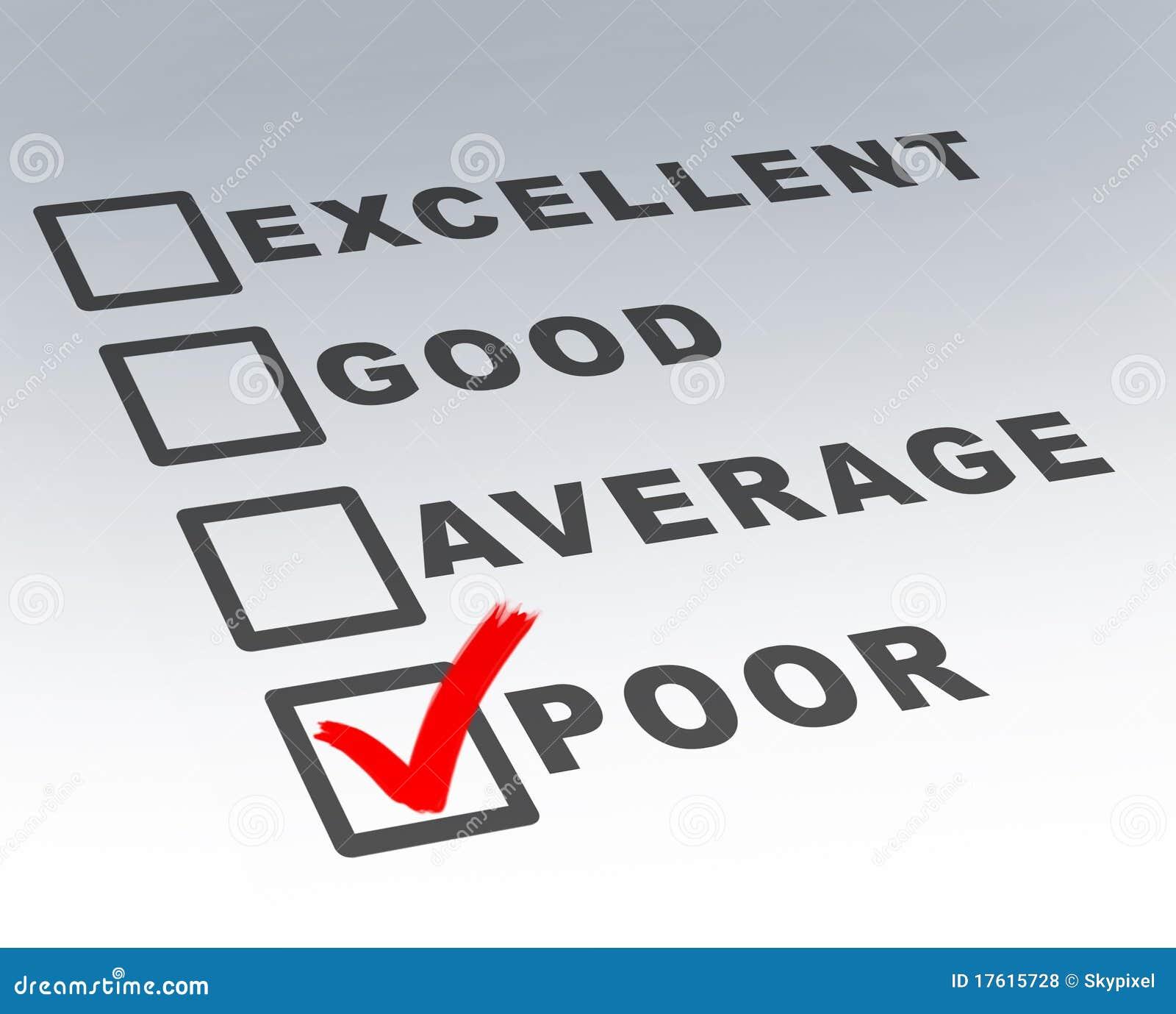 坏客户表单质量差调查非常