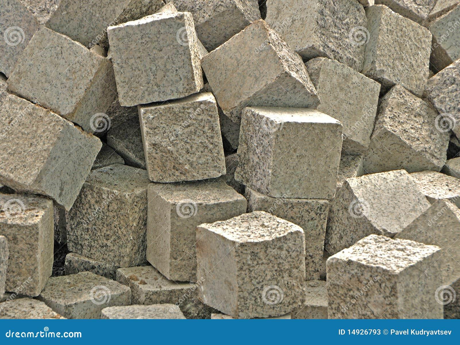 块_块堆石头