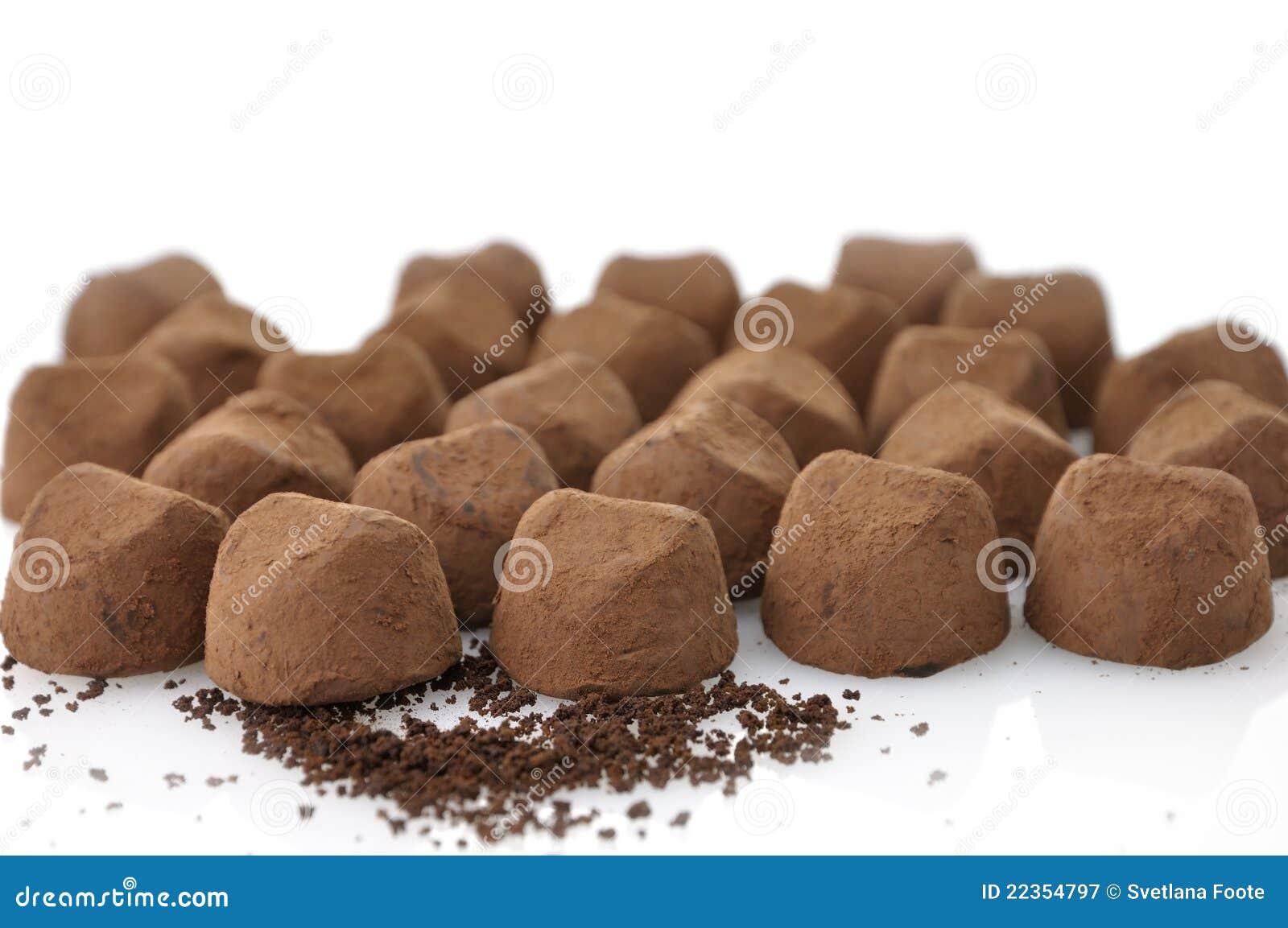 块菌状巧克力