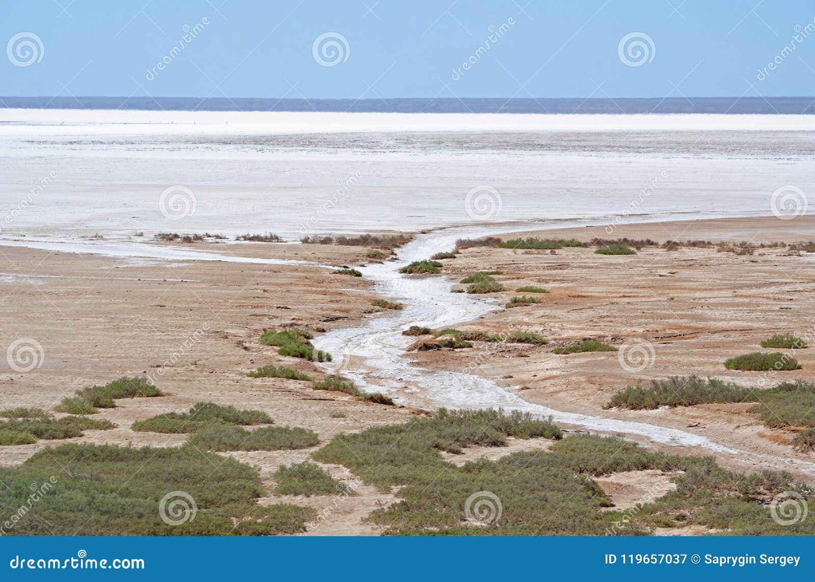 埃利通湖水晶盐