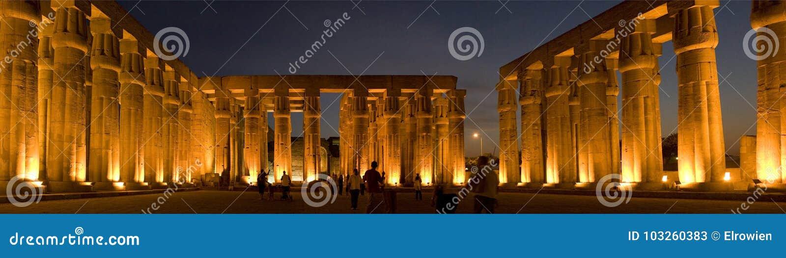 埃及卢克索寺庙