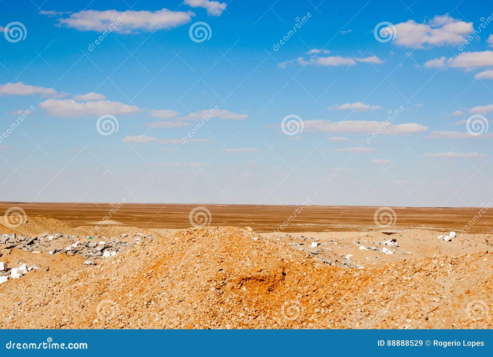 埃及沙漠场面