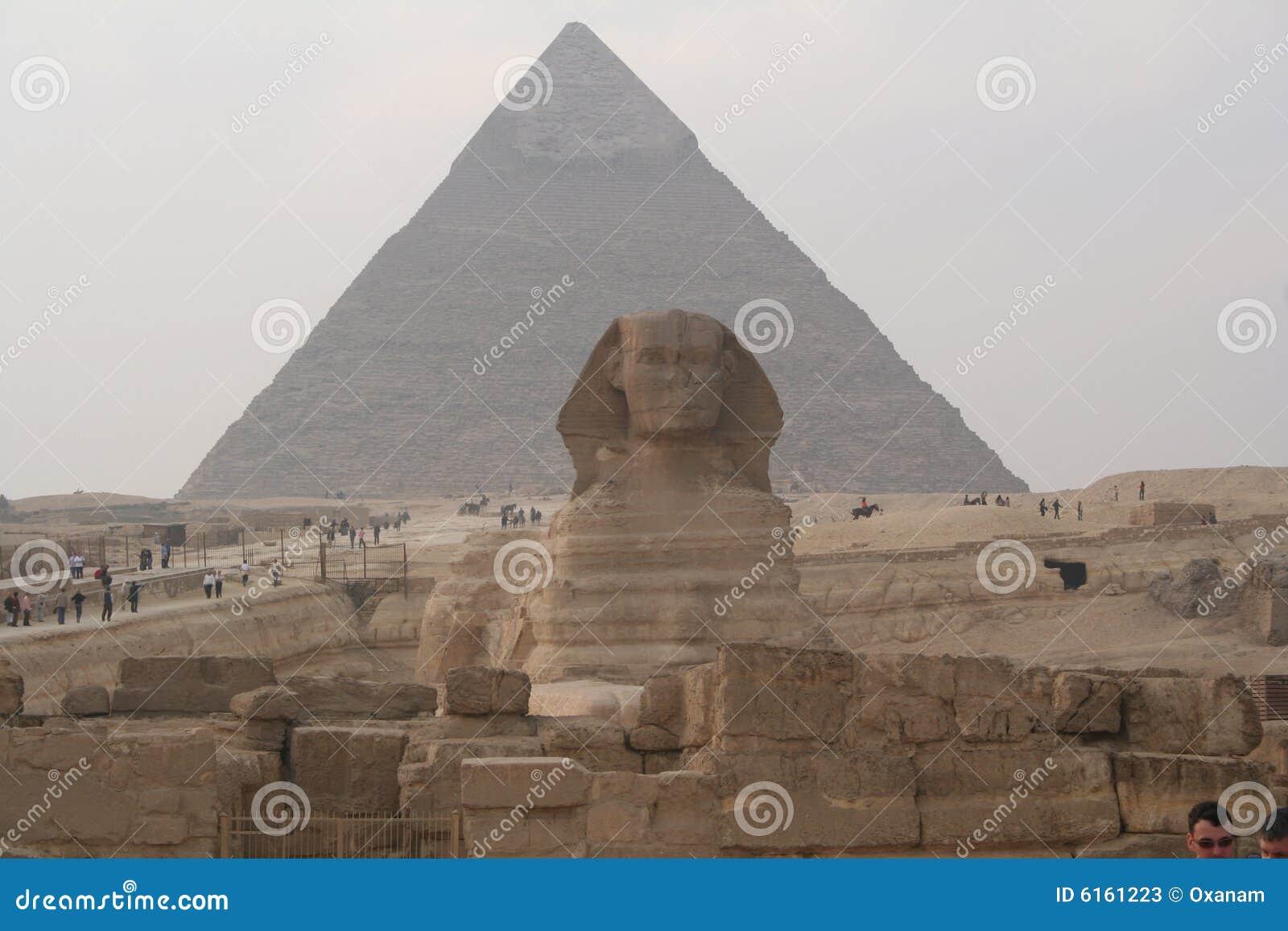 埃及金字塔狮身人面象