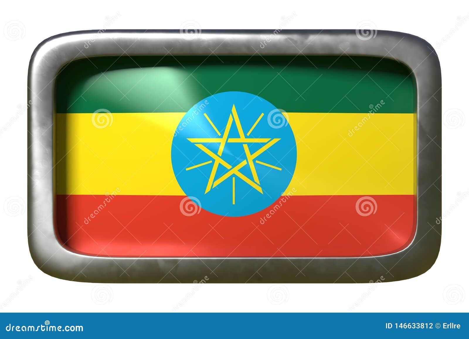 埃塞俄比亚旗子标志