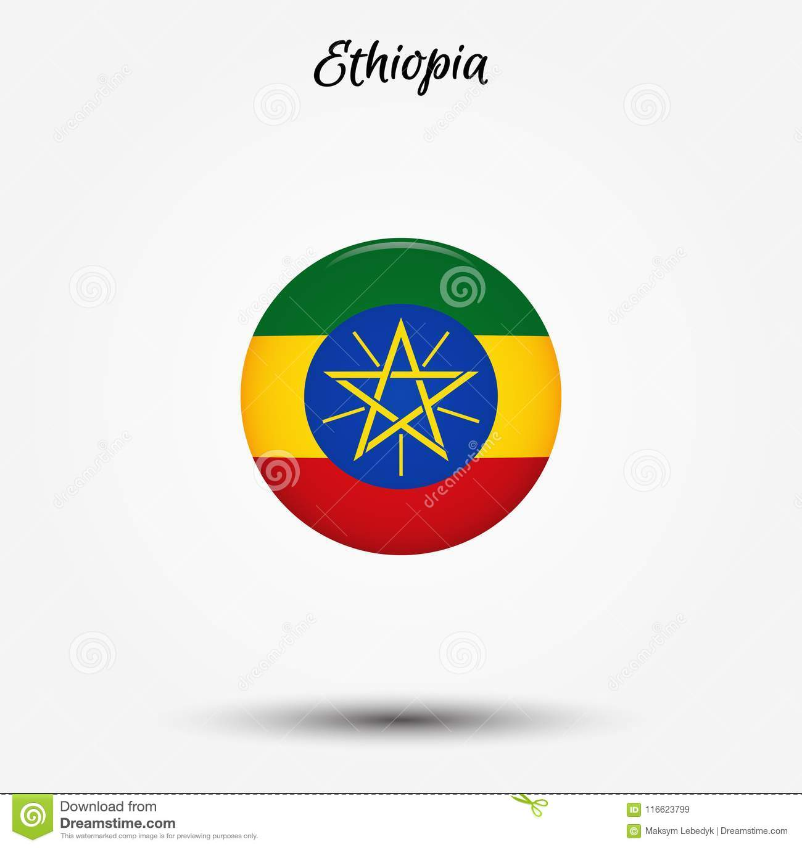 埃塞俄比亚象旗子