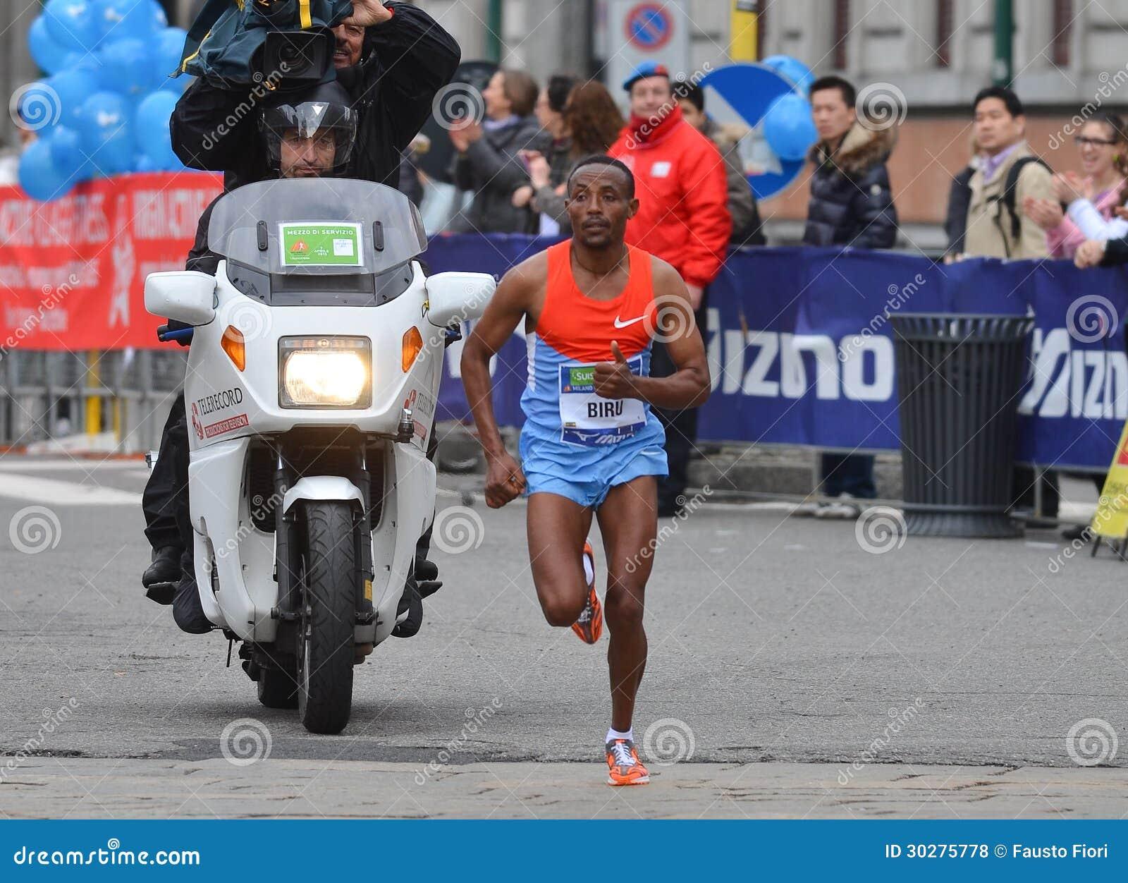 米兰市2013年马拉松男性优胜者