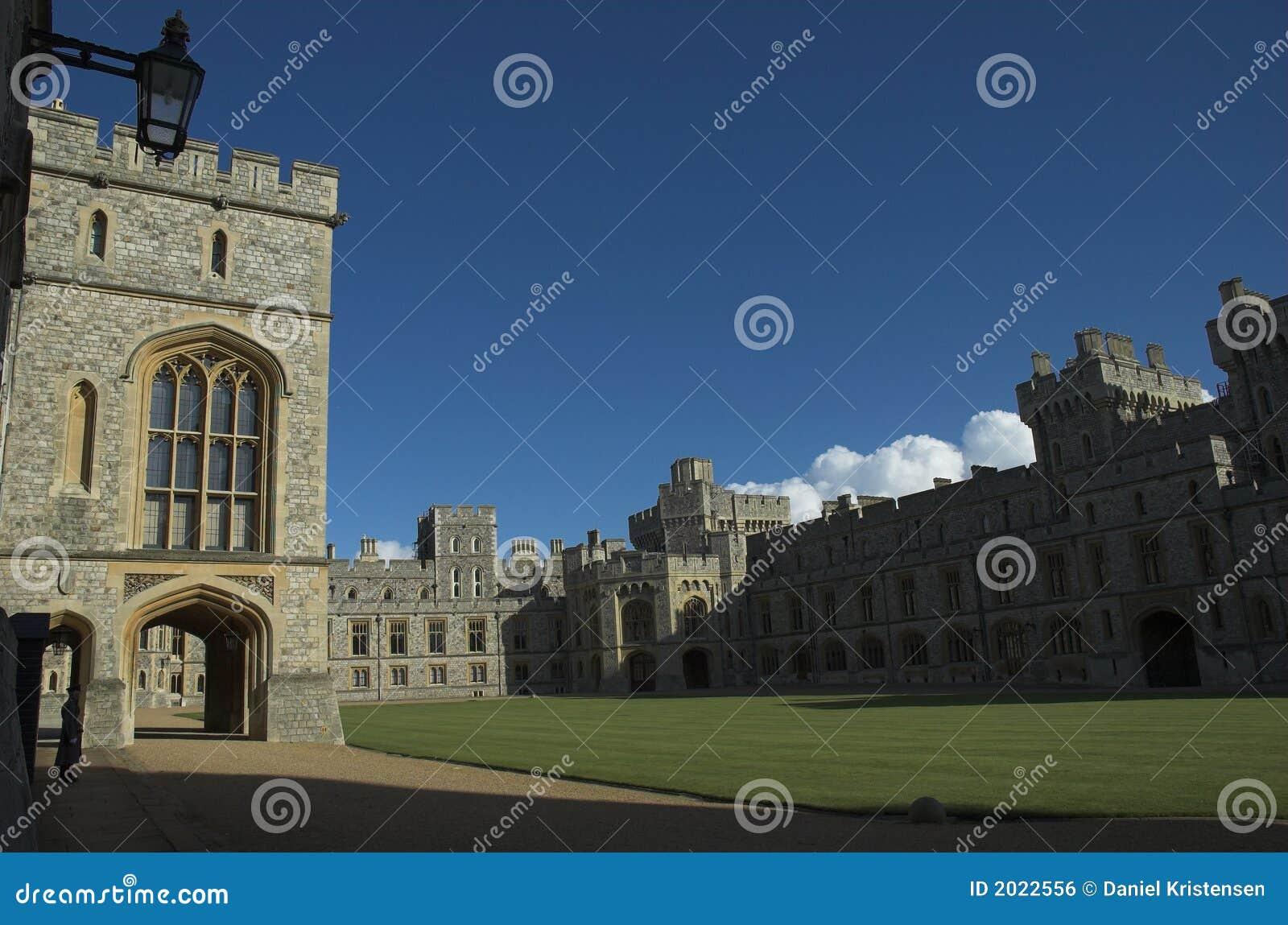 城堡上面的病区windsor