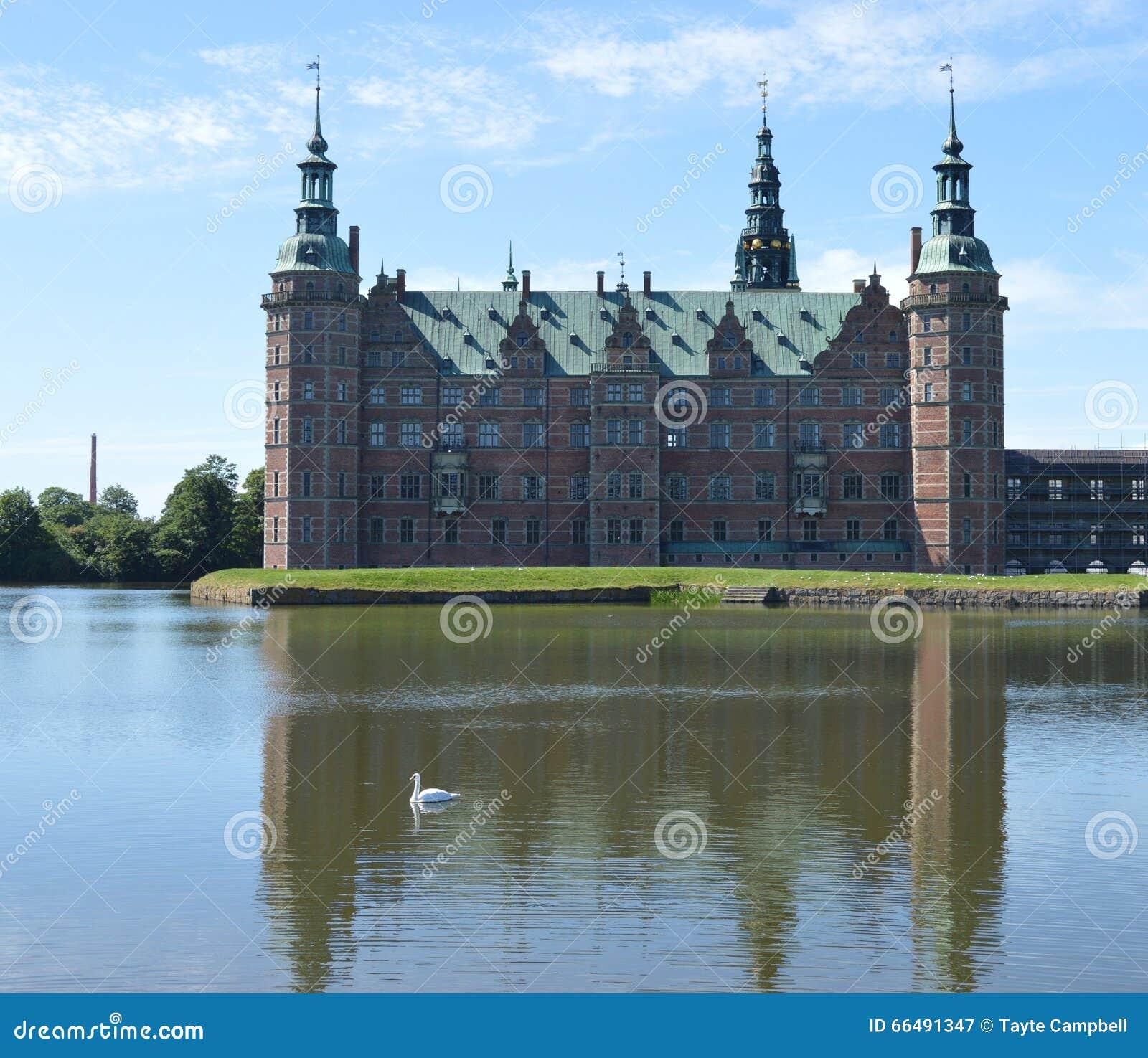 城堡丹麦菲特列堡
