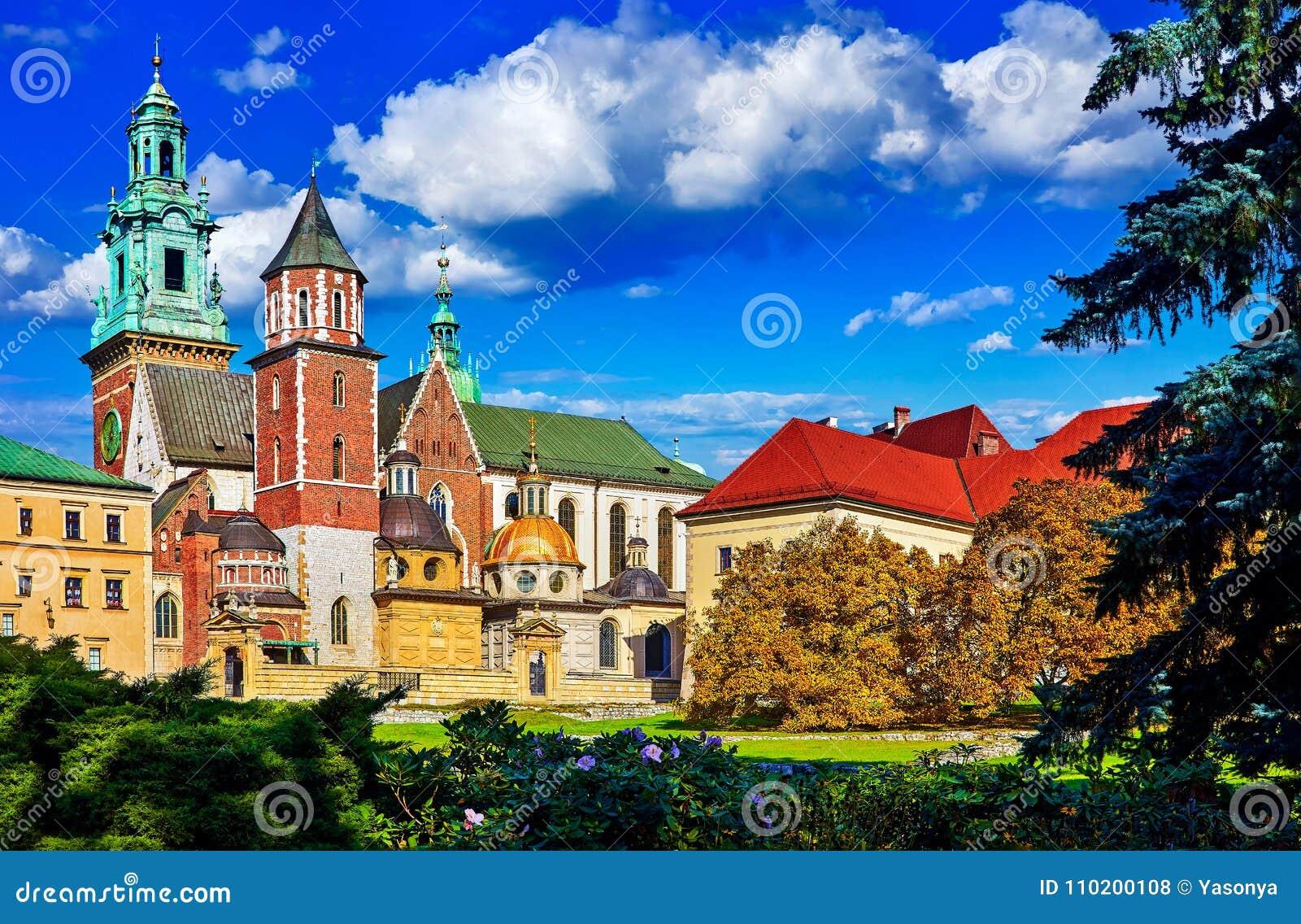 城堡克拉科夫波兰wawel