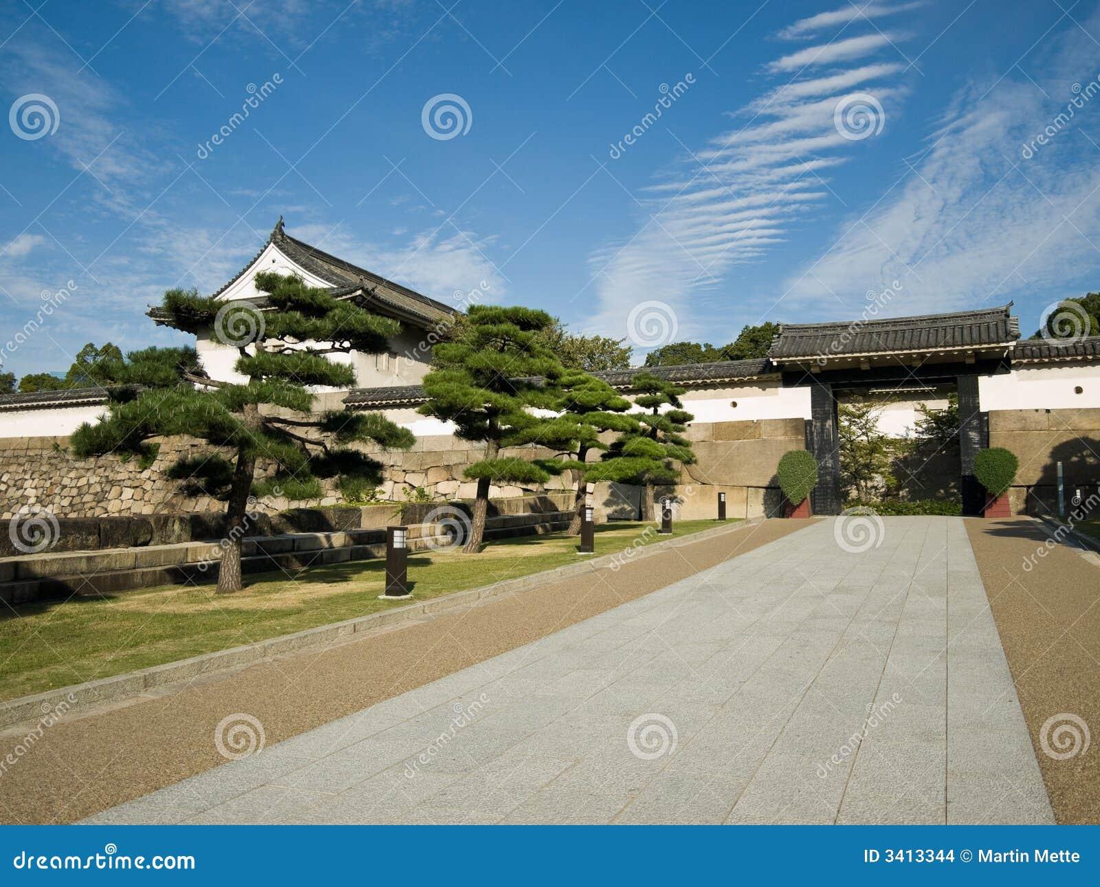 城堡入口大阪