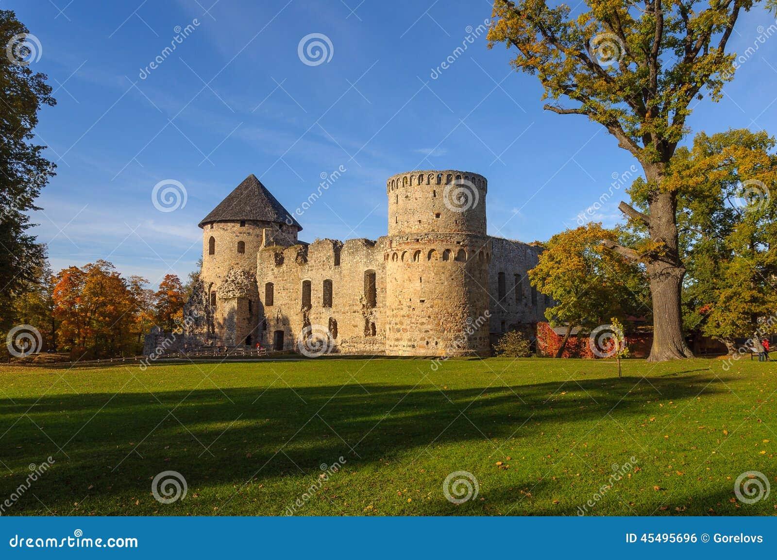 城堡在Cesis