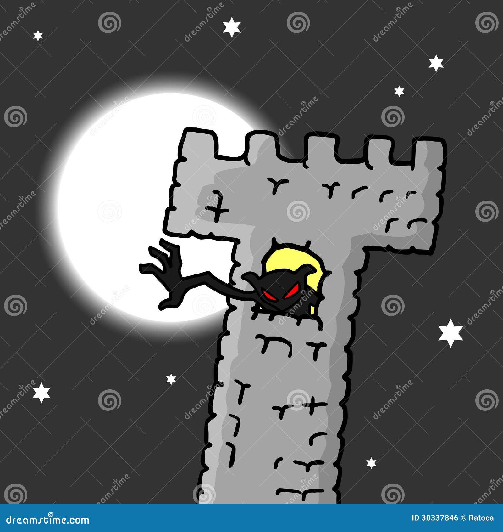Download 城堡妖怪 向量例证. 插画 包括有 晚上, 设计, 动画片, 字符, 月亮, 惊吓, 鬼魂, 恐惧, 万圣节 - 30337846