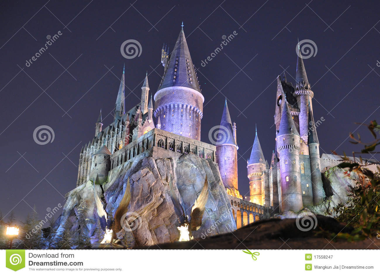 城堡掠夺晚上奥兰多陶瓷工普遍性