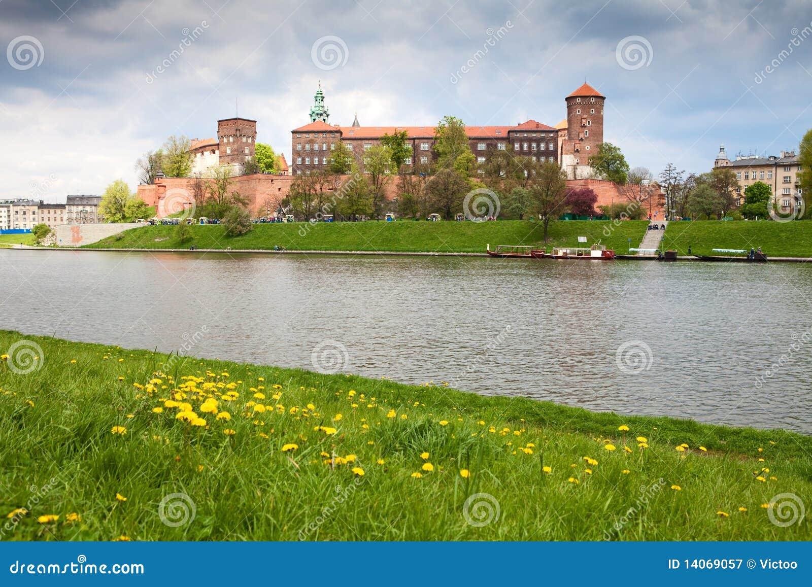 城堡波兰wawel
