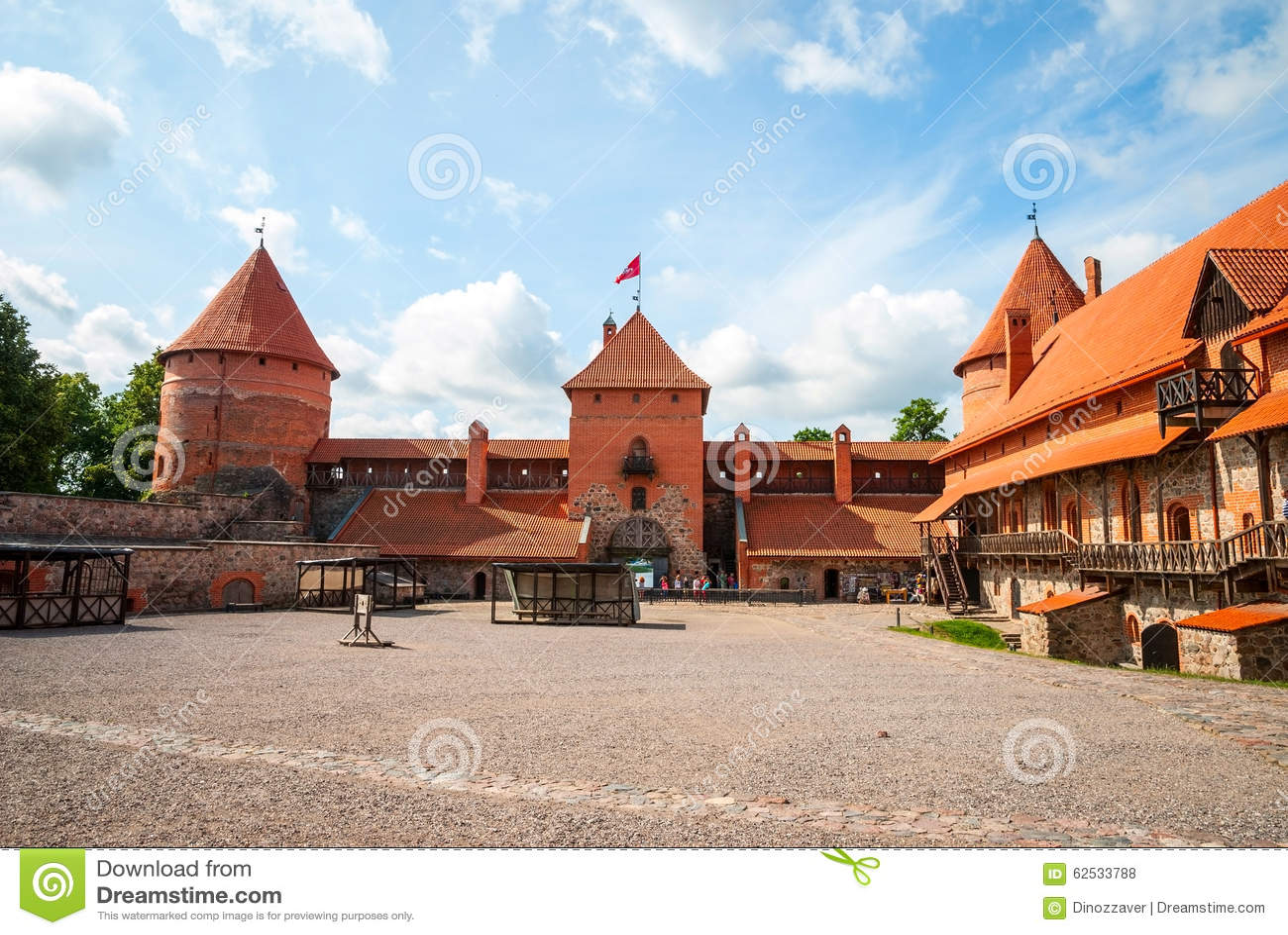 城堡立陶宛trakai