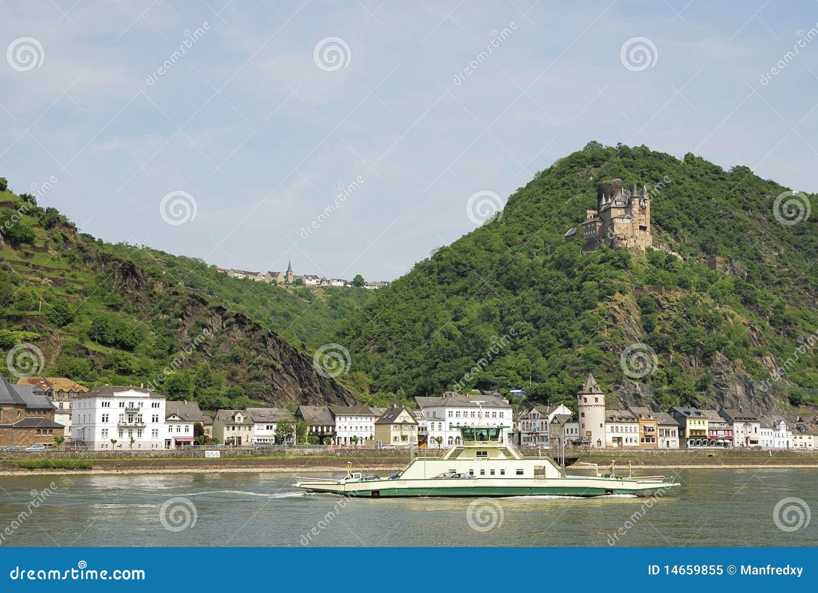 城堡莱茵河
