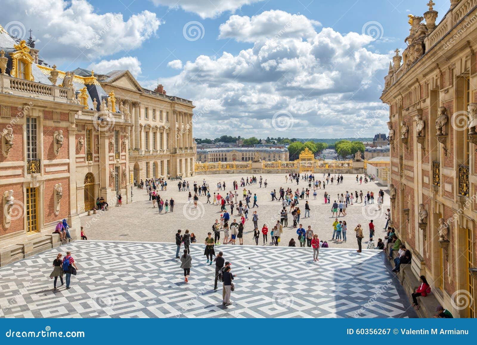 皇家摄影_城堡著名法国宫殿皇家凡尔赛 图库摄影片