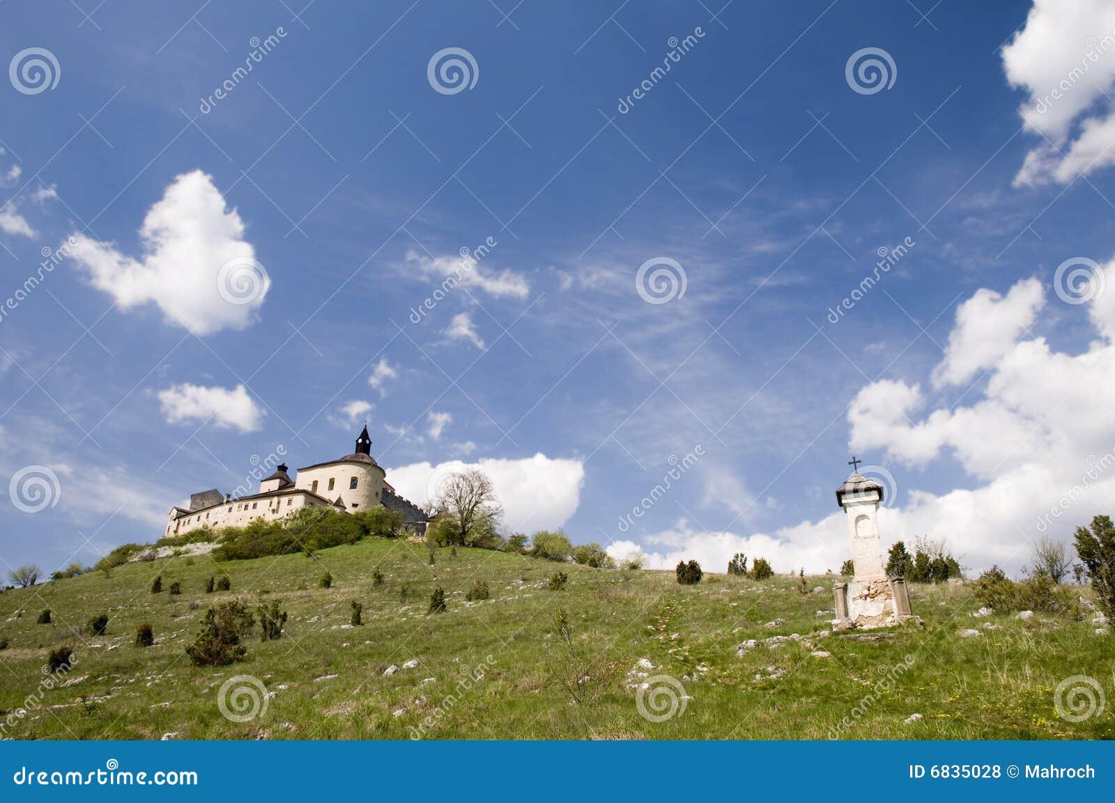 城堡horka krasna斯洛伐克