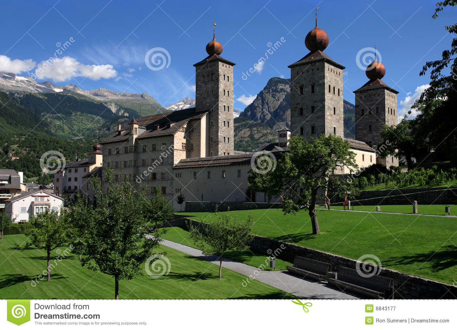 城堡stockalper