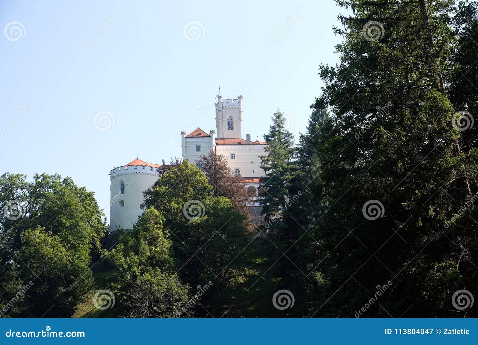 城堡Trakoscan在克罗地亚