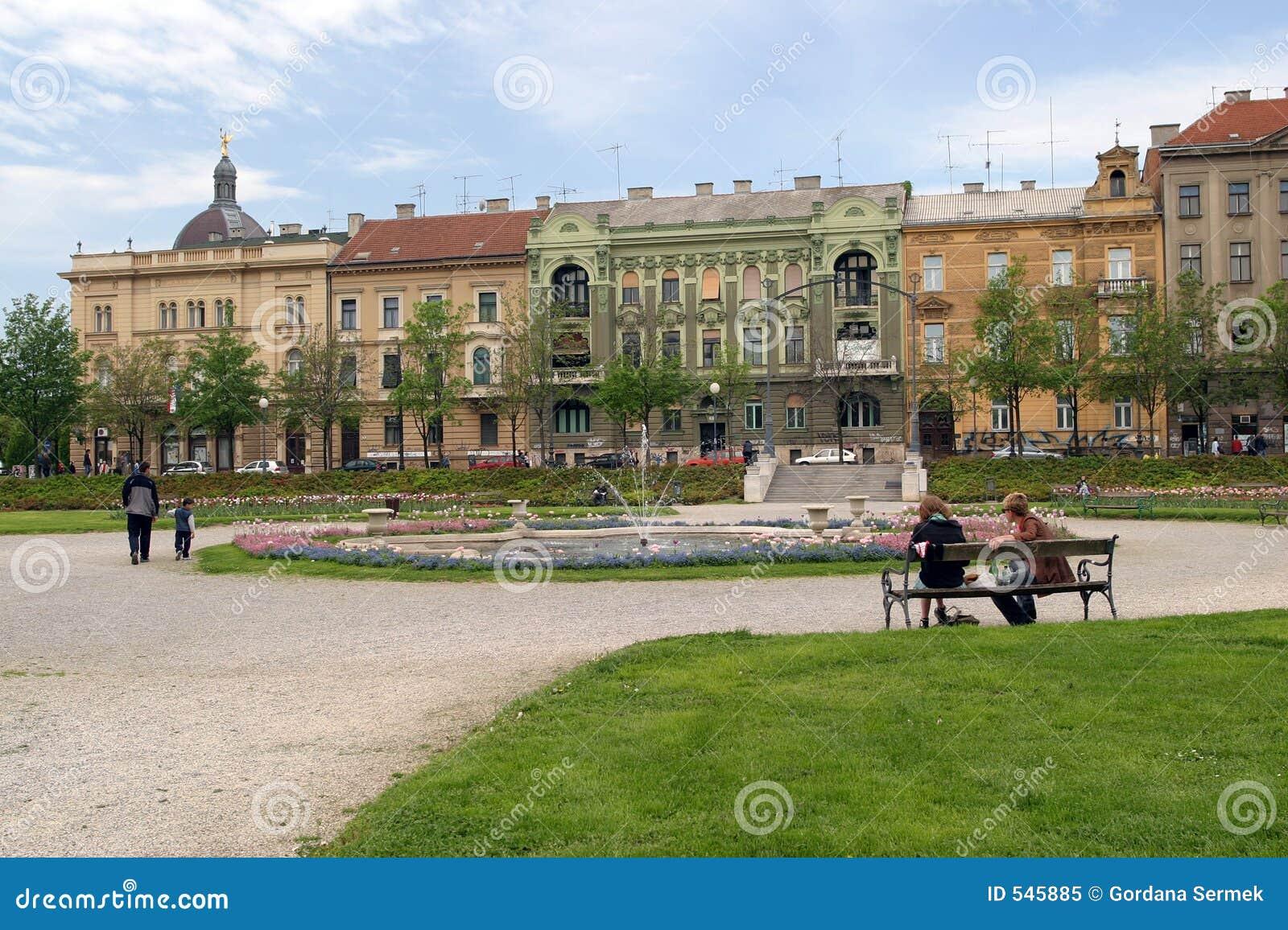 Download 城市公园萨格勒布 库存图片. 图片 包括有 绿色, 萨格勒布, 整洁, 喷泉, 正方形, 城市, 岗位, 干净 - 545885
